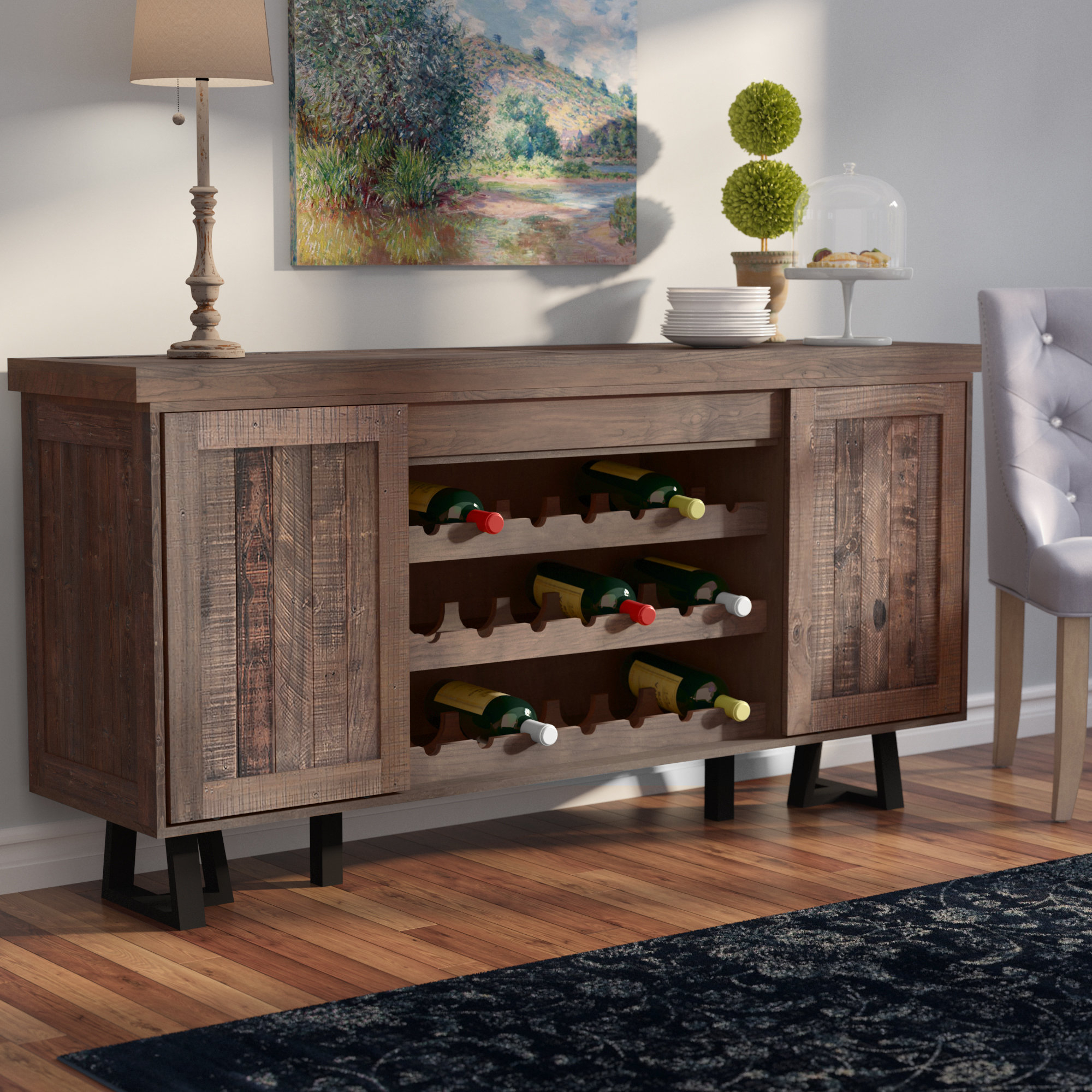 70 Inch Credenza You'll Love In 2019 | Wayfair With Regard To Caines Credenzas (View 2 of 30)