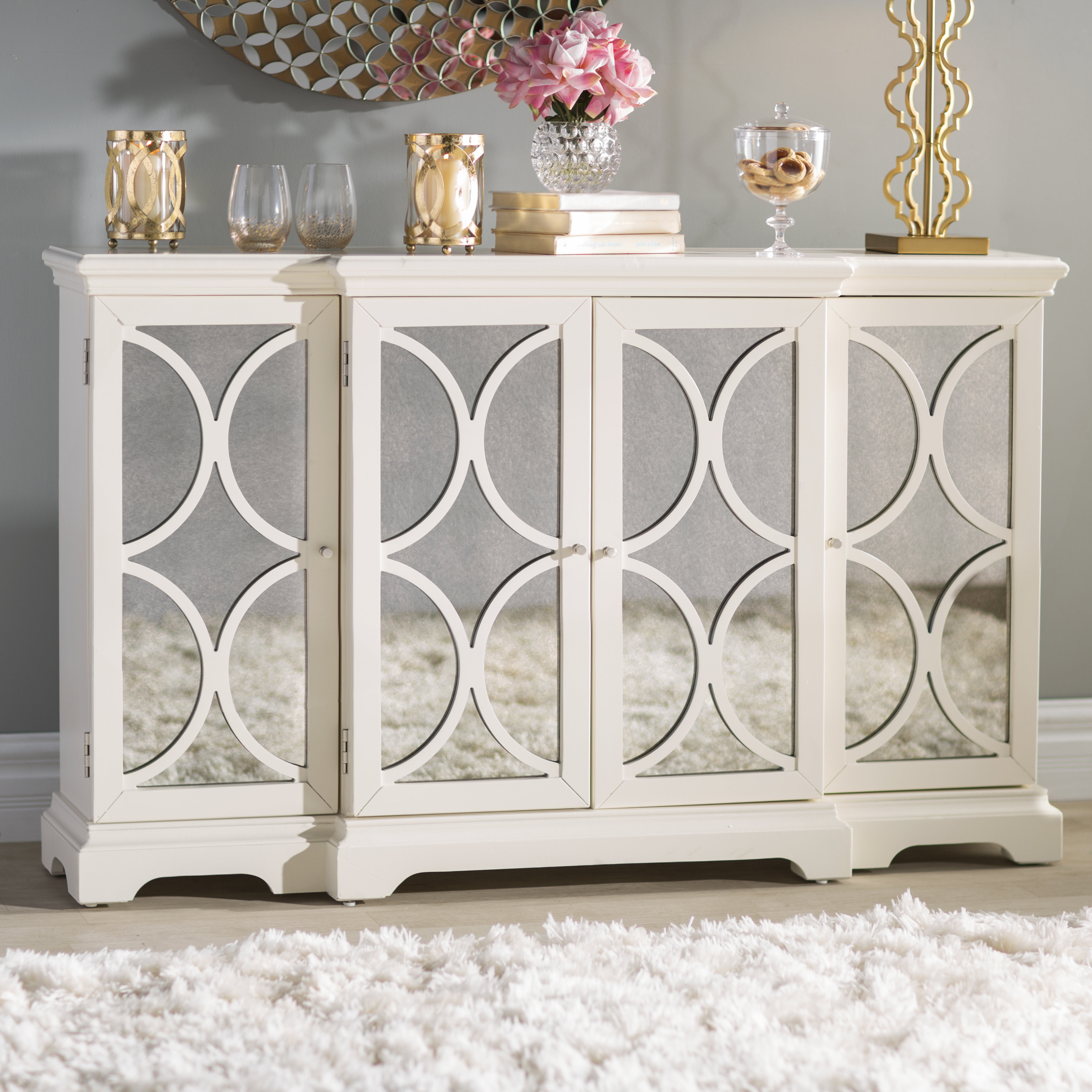 72 Inch Credenza | Wayfair throughout Candide Wood Credenzas (Image 1 of 30)