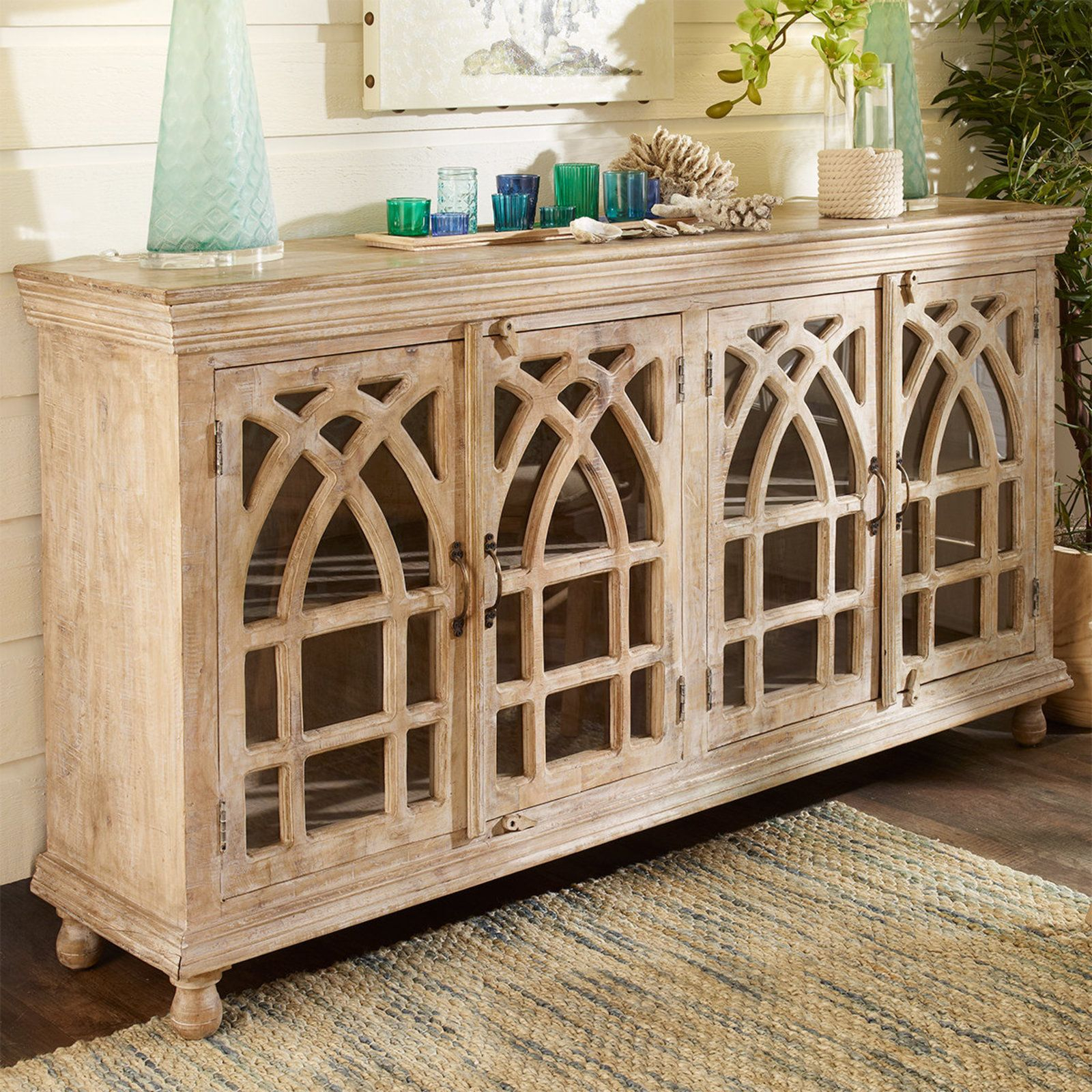 Abbey Sideboard In 2019 | Dining Room | Wood Furniture throughout Senda Credenzas (Image 4 of 30)