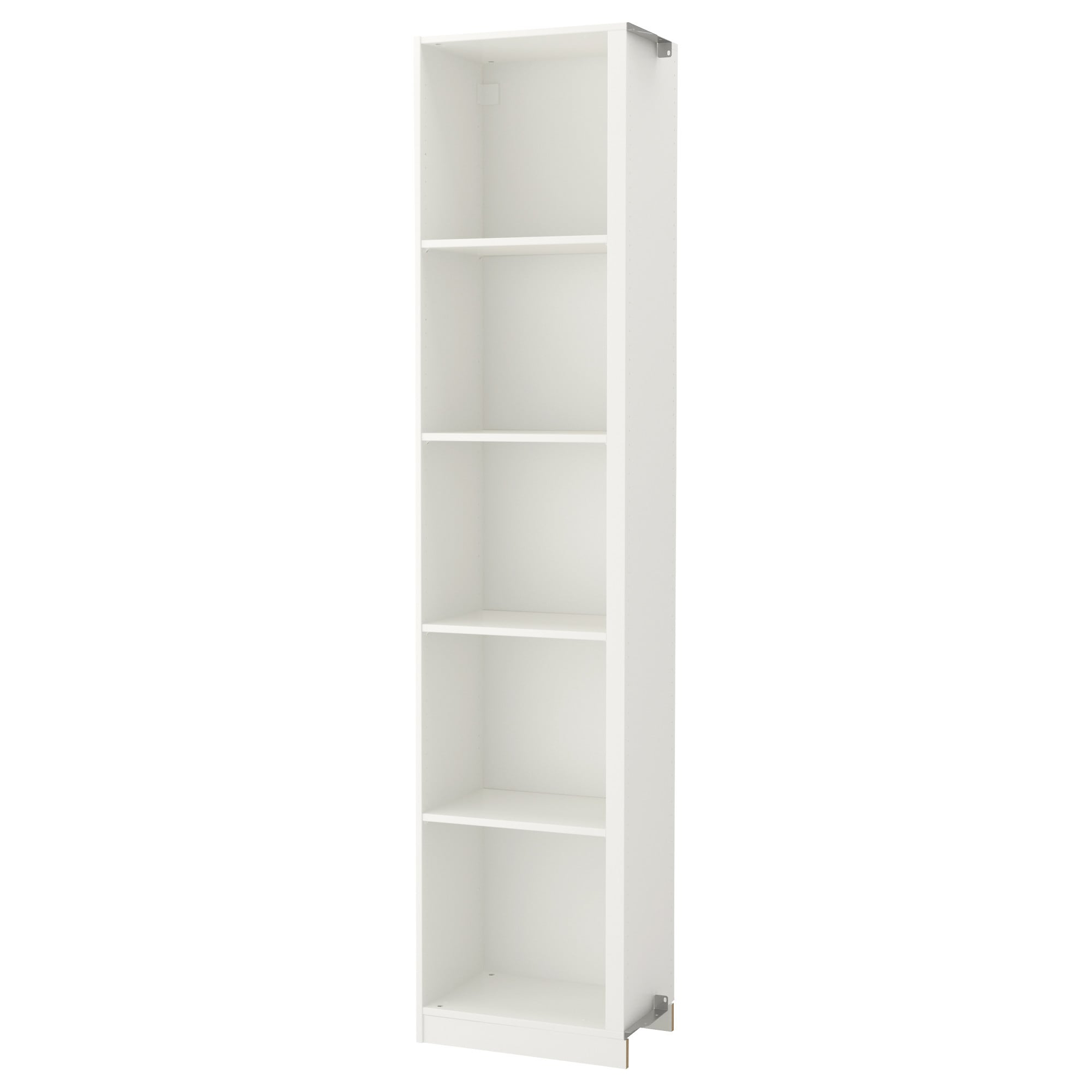 Add On Corner Unit With 4 Shelves Pax White In Multi Shelf Corner Buffets (View 18 of 30)
