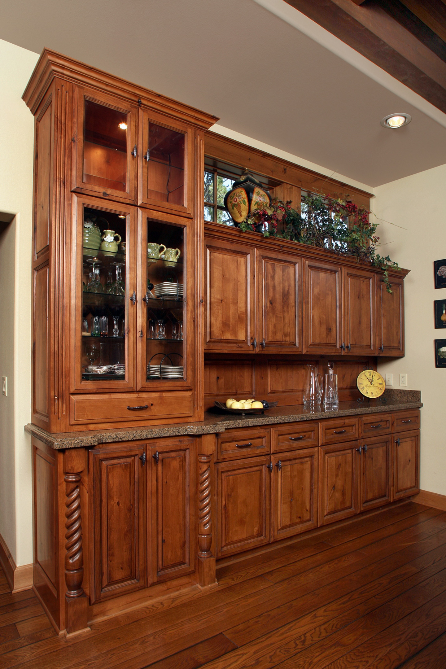 Affordable Custom Cabinets – Showroom Intended For Medium Buffets With Wood Top (View 14 of 30)
