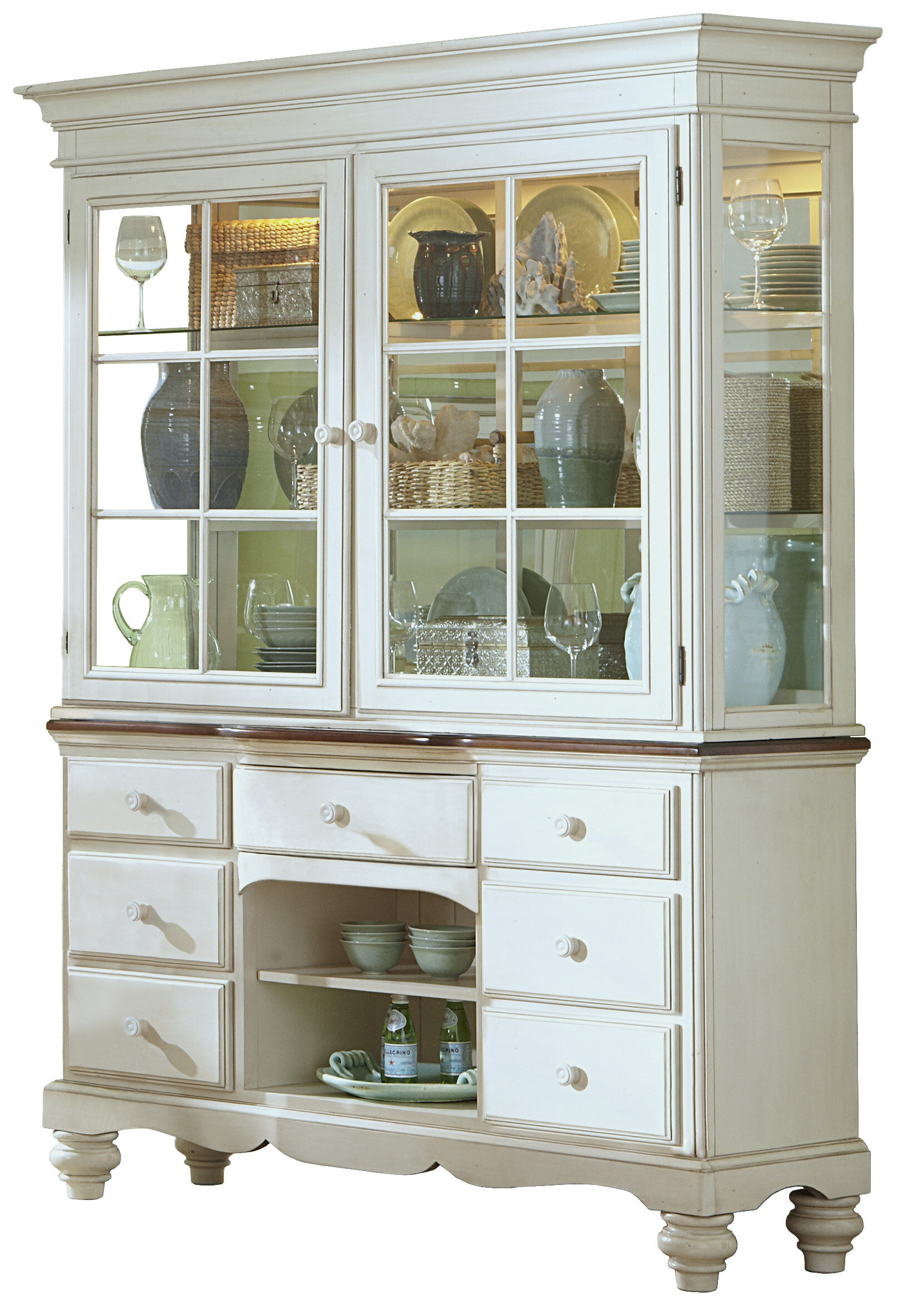 Alise China Cabinet Intended For Cazenovia Charnley Sideboards (View 1 of 30)