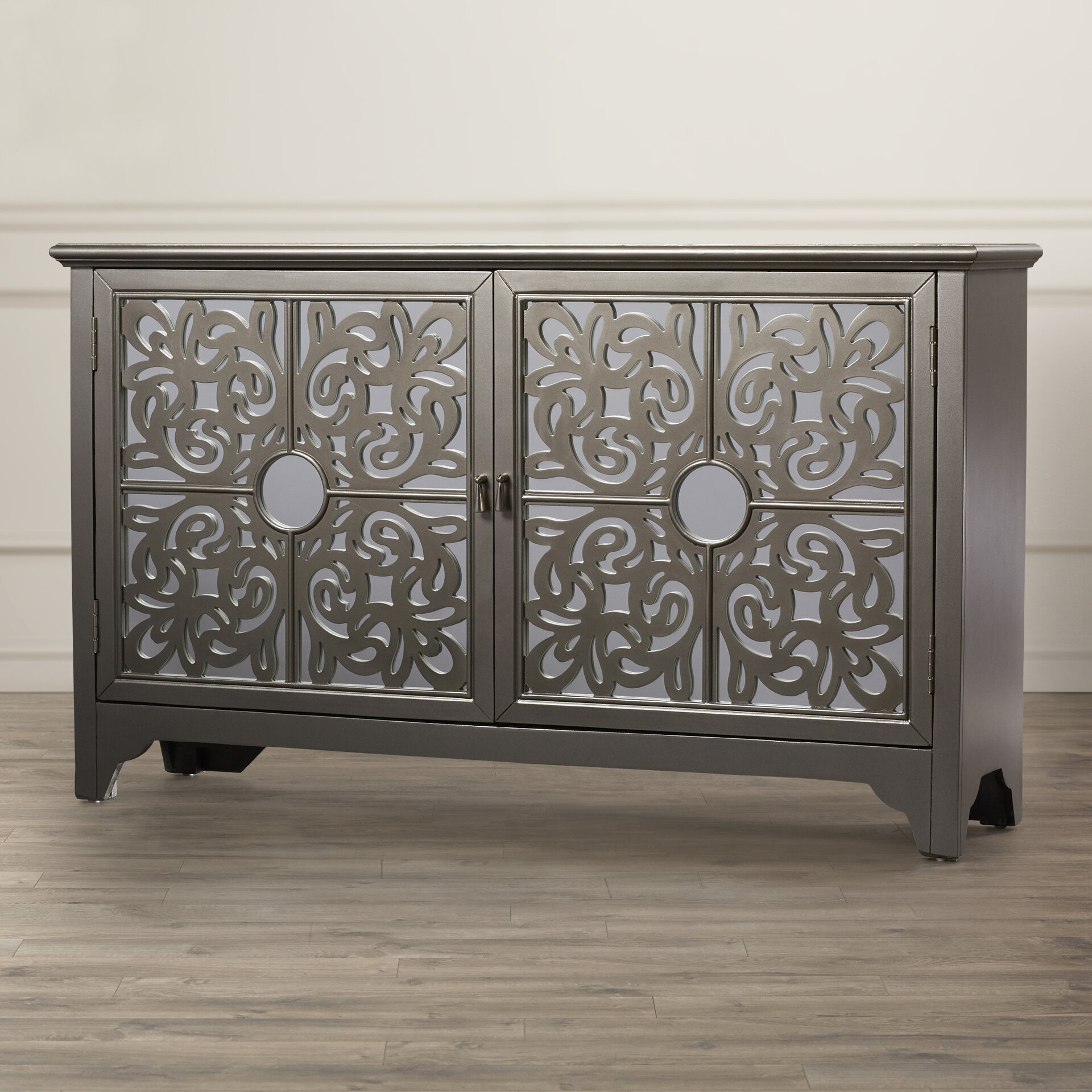 Alkmene Sideboard within Senda Credenzas (Image 6 of 30)