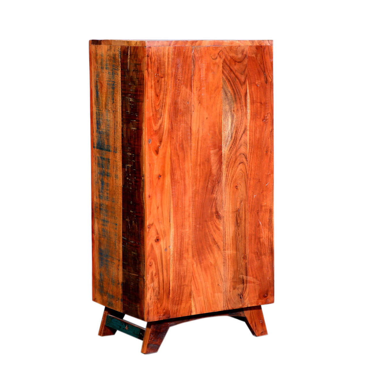Amityville Rustic Handcrafted 5 Drawers Reclaimed Wood Dresser Pertaining To Amityville Wood Sideboards (View 24 of 30)