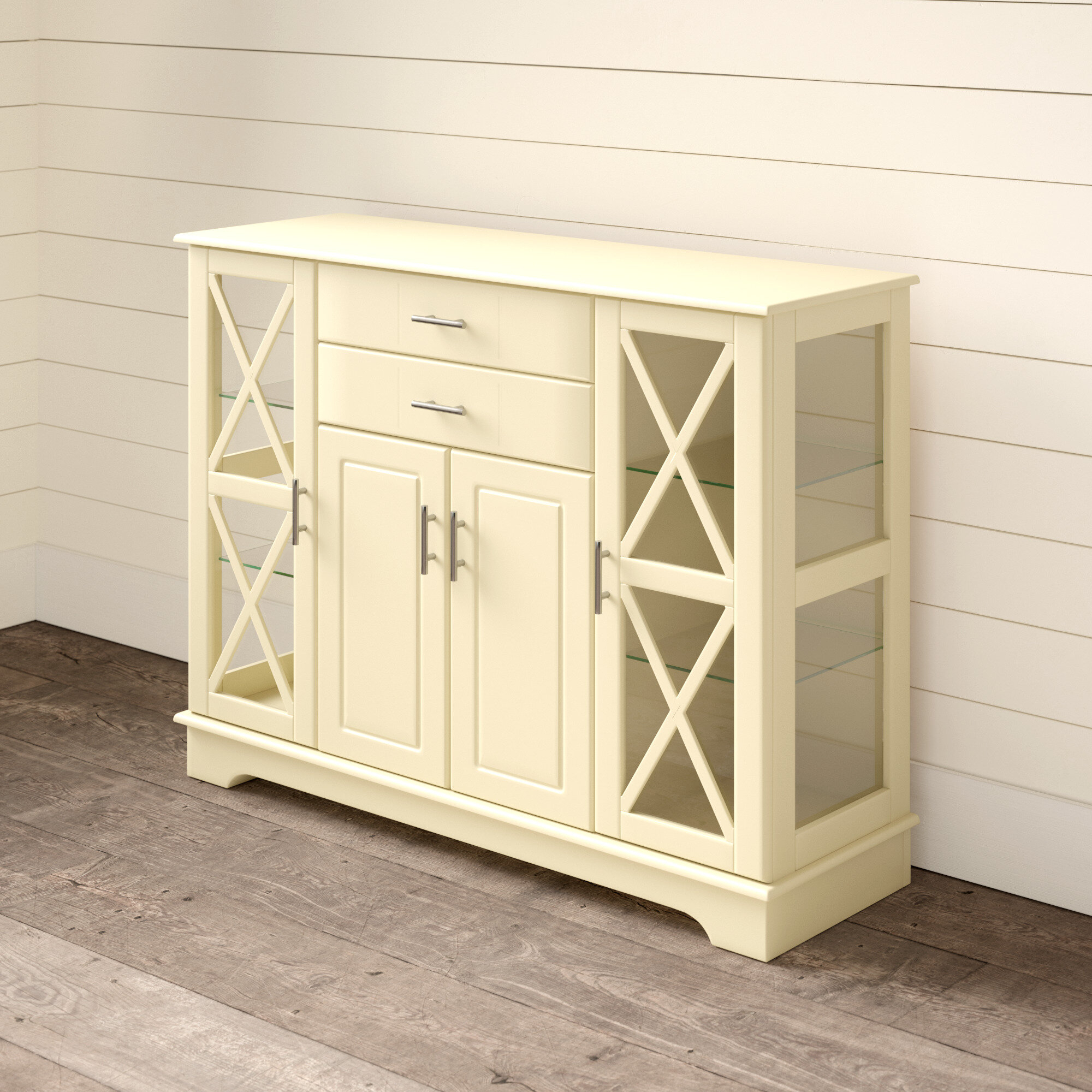 Andover Mills Legere Sideboard intended for Ilyan Traditional Wood Sideboards (Image 1 of 30)