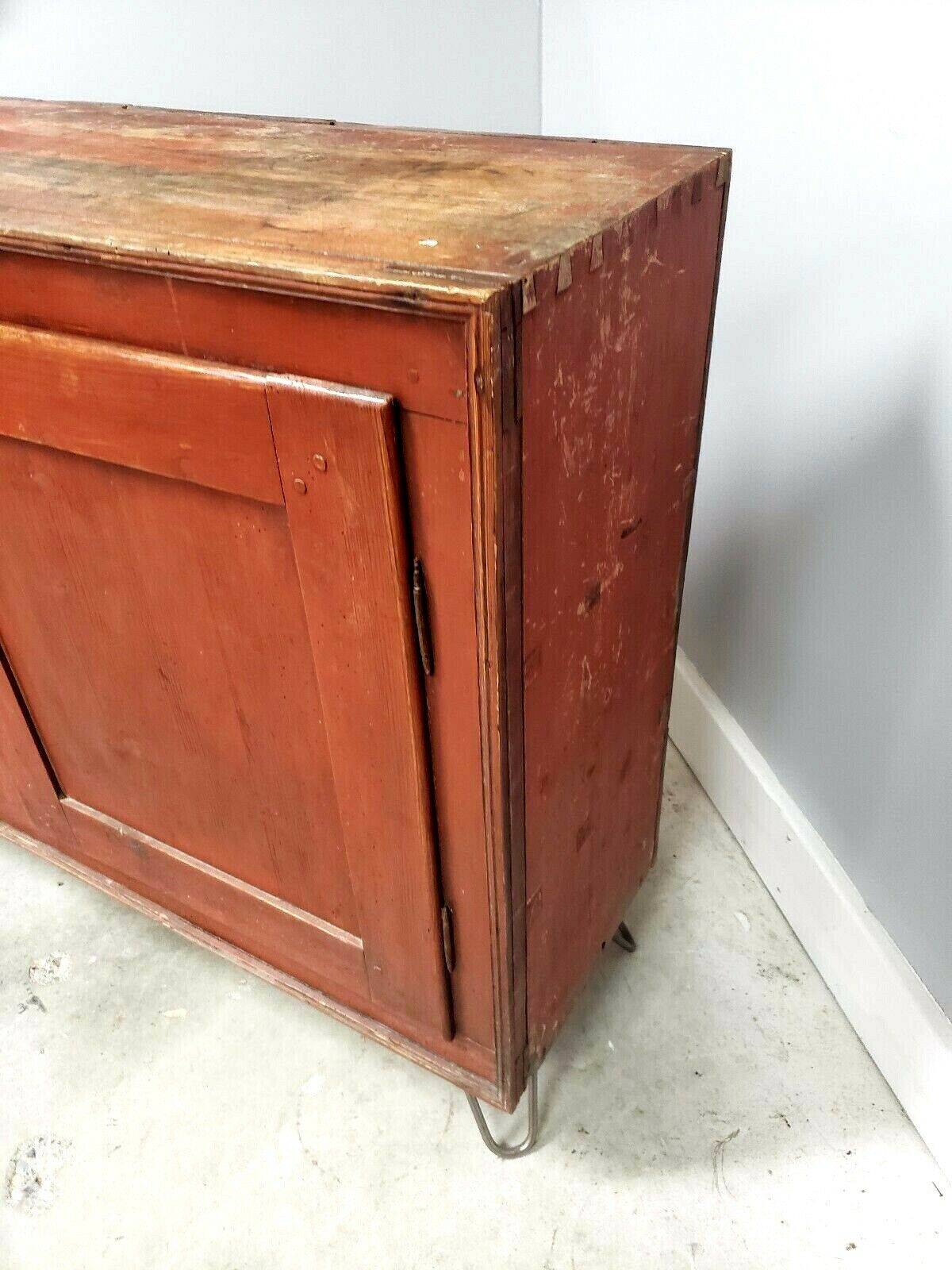 Antique 18th Century Commode Sideboard Credenza Rustic Cabinet For Lowrey Credenzas (View 23 of 30)