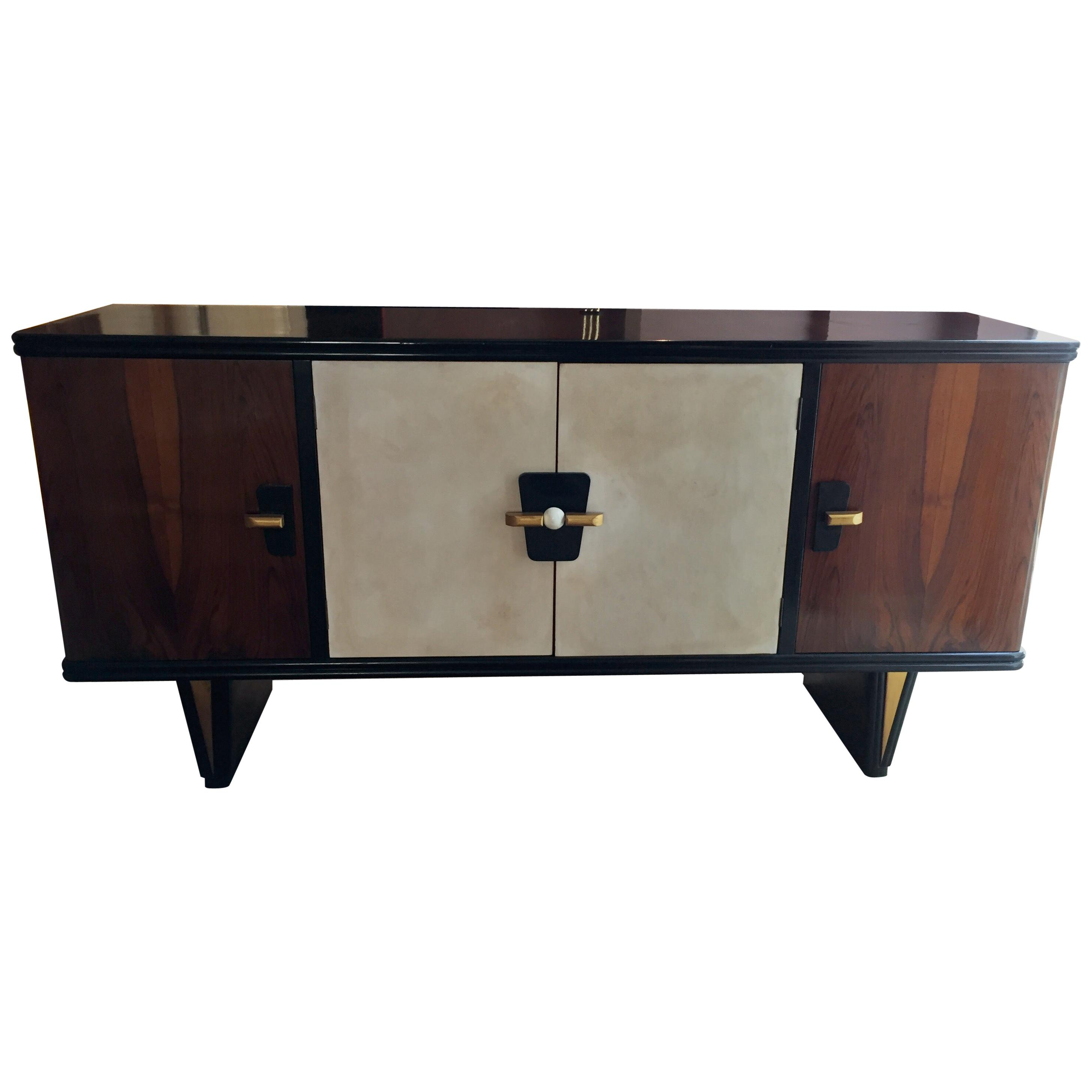 Antique And Vintage Buffets - 2,700 For Sale At 1Stdibs inside 3-Drawer Black Storage Buffets (Image 2 of 30)