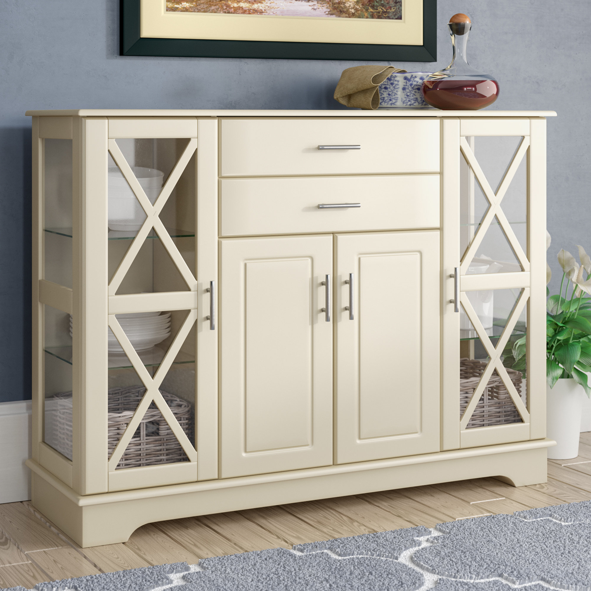 Antique Sideboards And Buffets | Wayfair in Avenal Sideboards (Image 4 of 30)