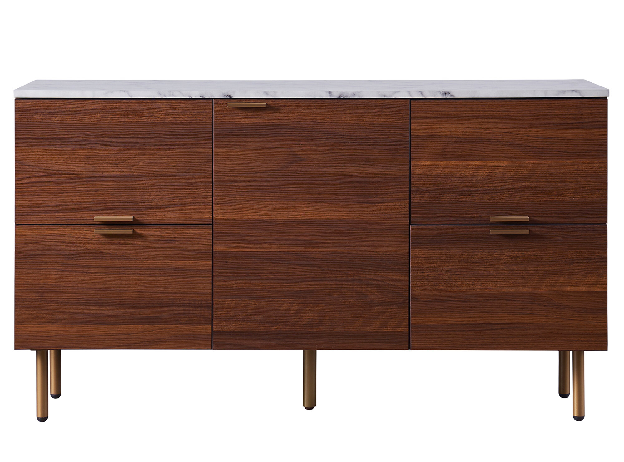 Ashton Buffet Table Throughout Keiko Modern Bookmatch Sideboards (View 20 of 30)