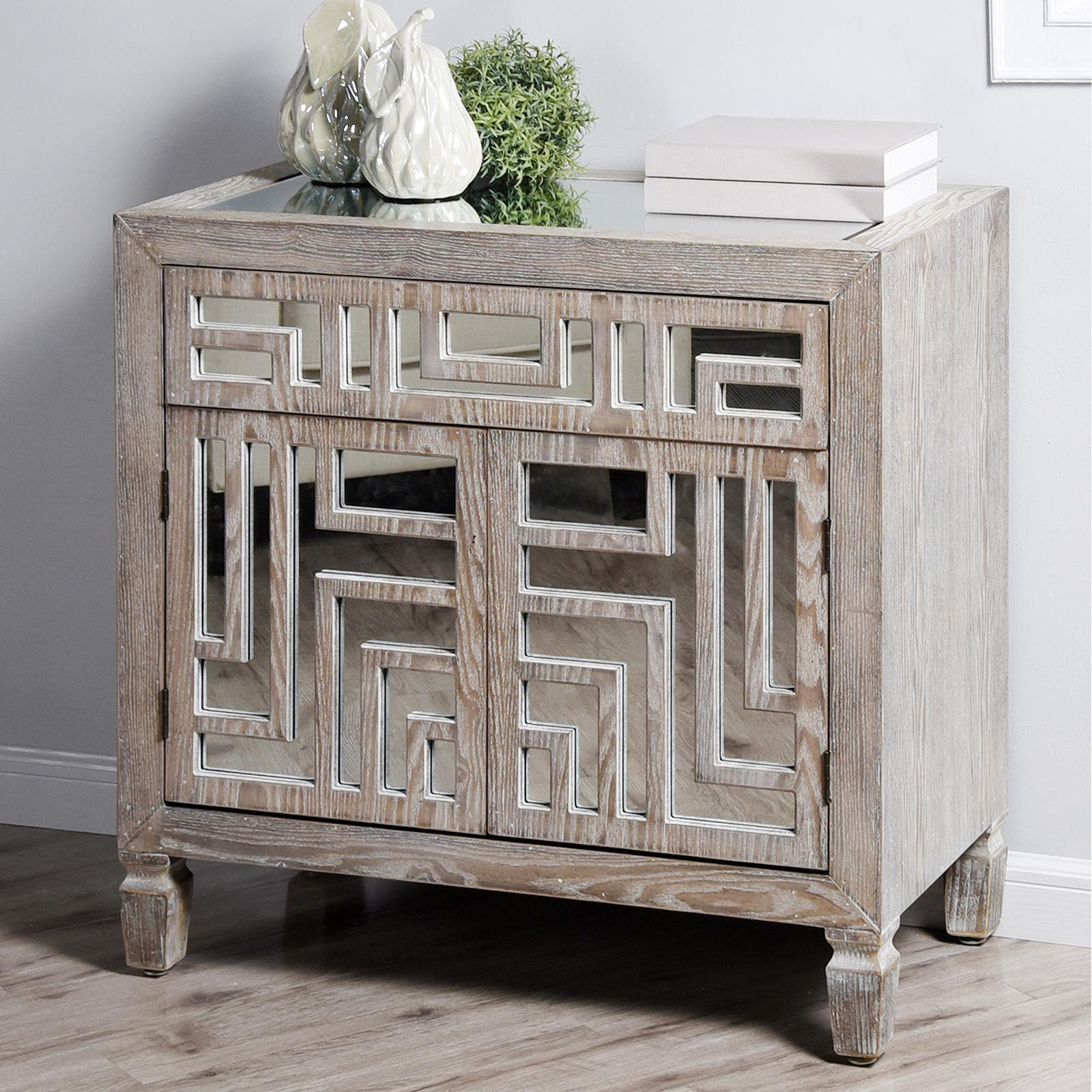 Austin 1 Drawer Cabinetstylecraft Home Collection | Wedding Planning, Registry & Gifts Inside Line Geo Credenzas (View 1 of 30)