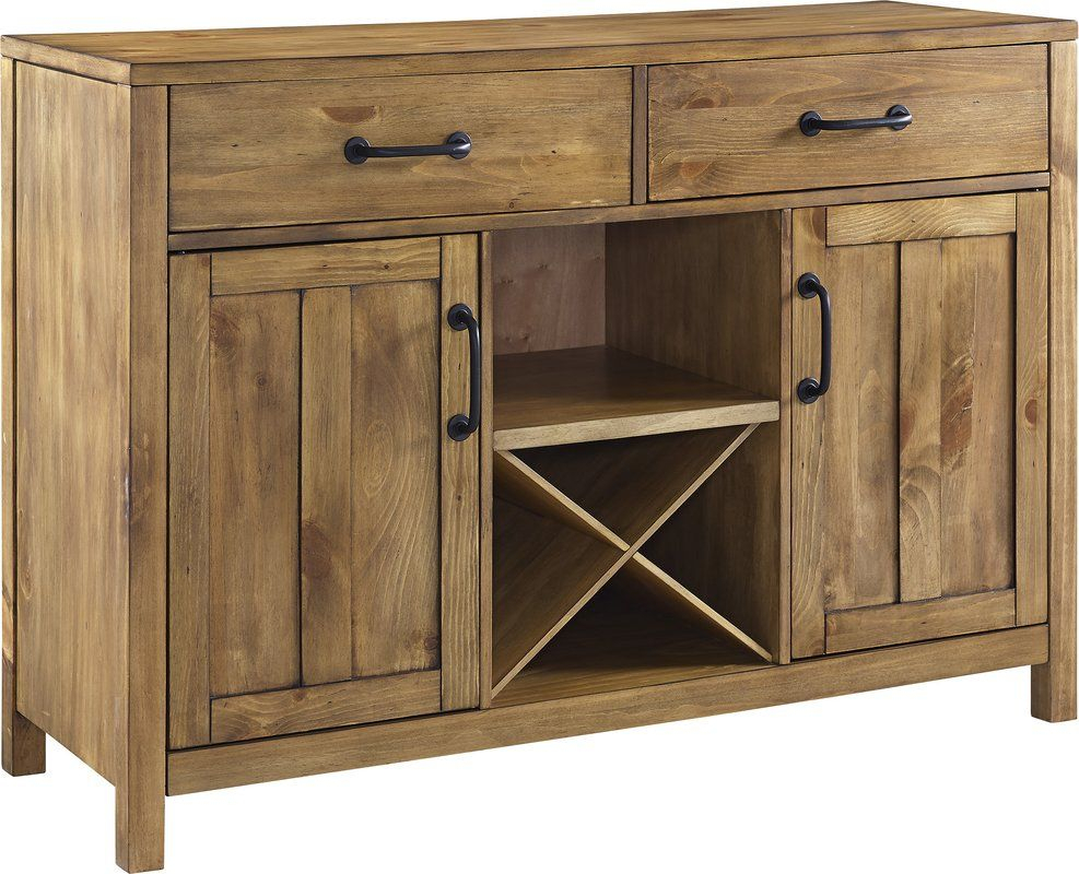 Avenal Sideboard | Home Decor In 2019 | Dining Room Storage intended for Avenal Sideboards (Image 9 of 30)