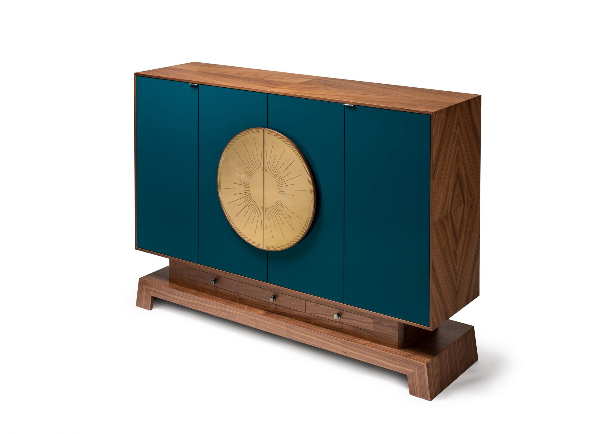 Bartleby Credenza – Lacquer – Amy Somerville London Within Turquoise Skies Credenzas (View 24 of 30)