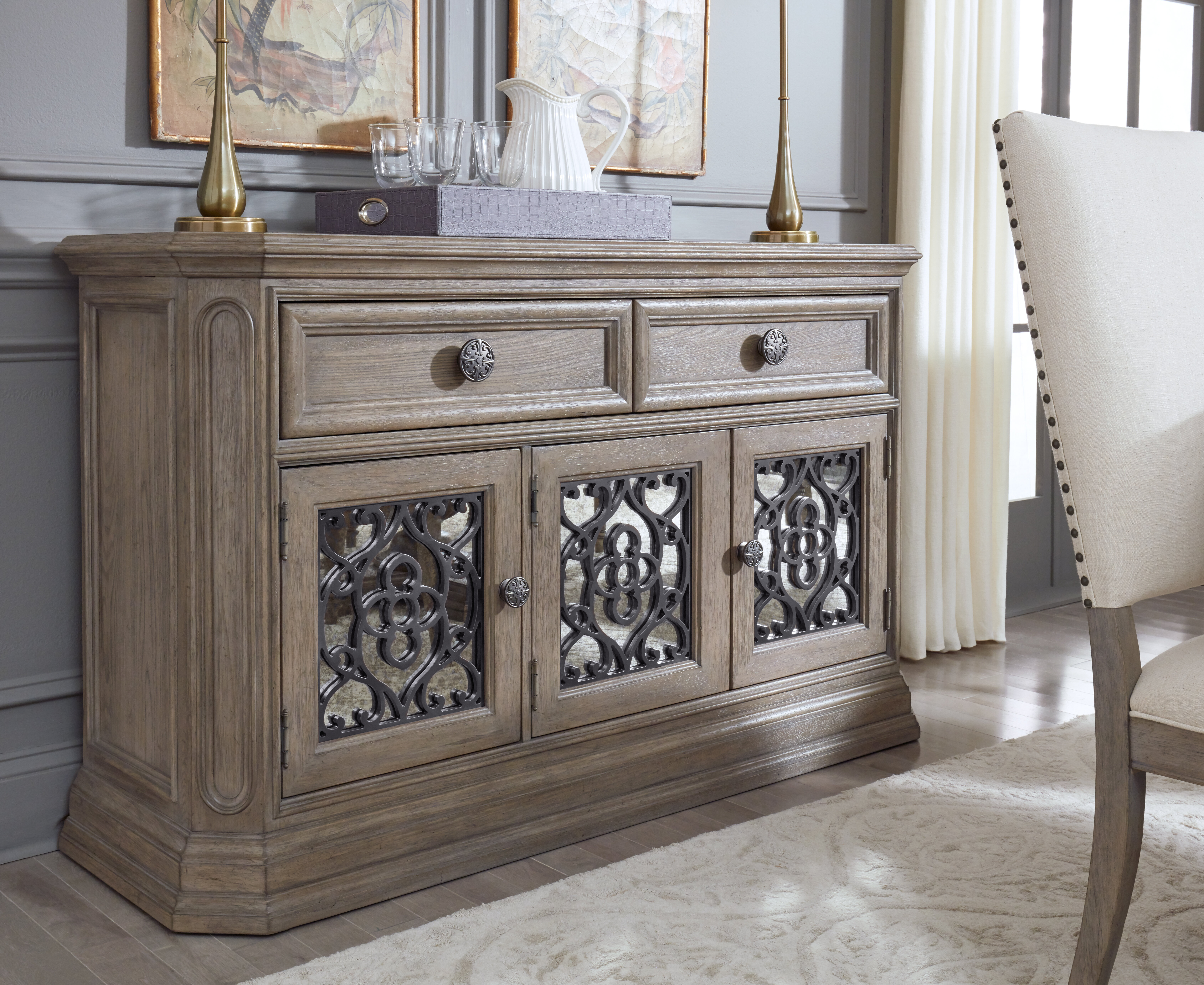 Bonham Credenza For Steinhatchee Reclaimed Pine 4 Door Sideboards (View 8 of 30)
