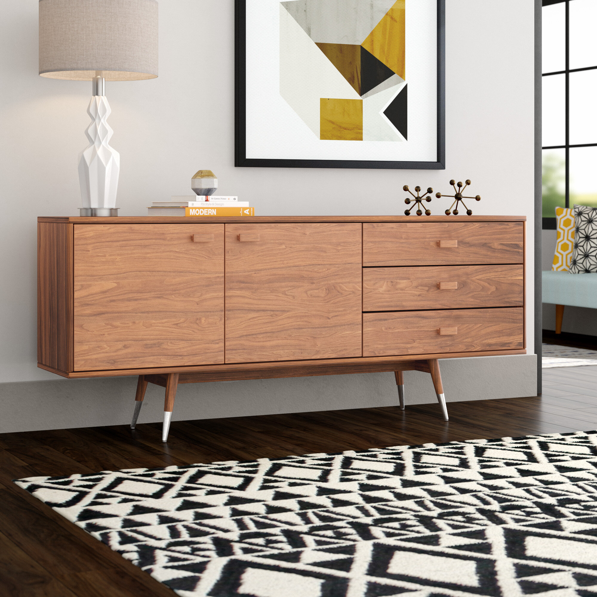 Braxton Studio Sideboard | Wayfair within Massillon Sideboards (Image 8 of 30)