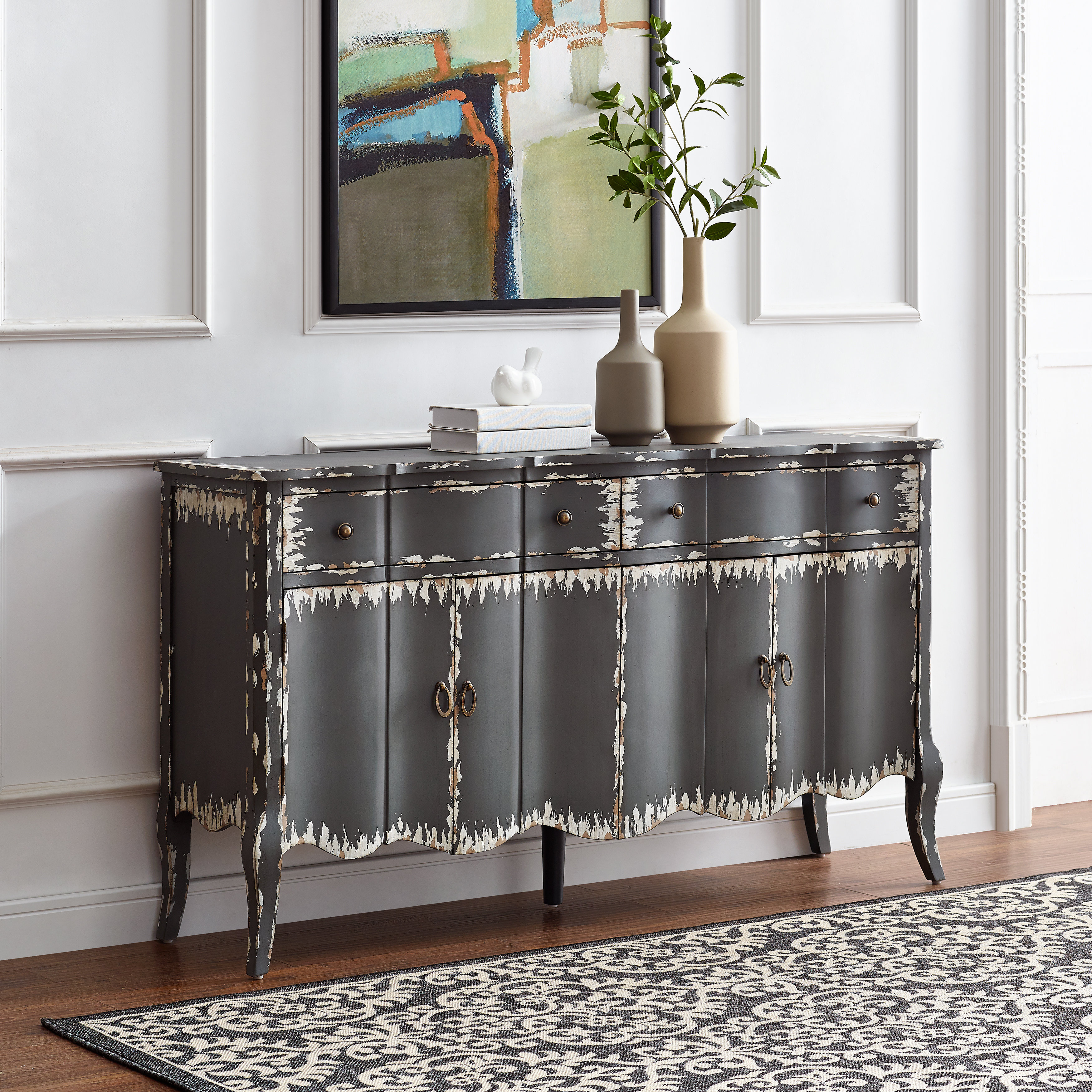 Bremner Credenza Pertaining To Cazenovia Charnley Sideboards (View 4 of 30)
