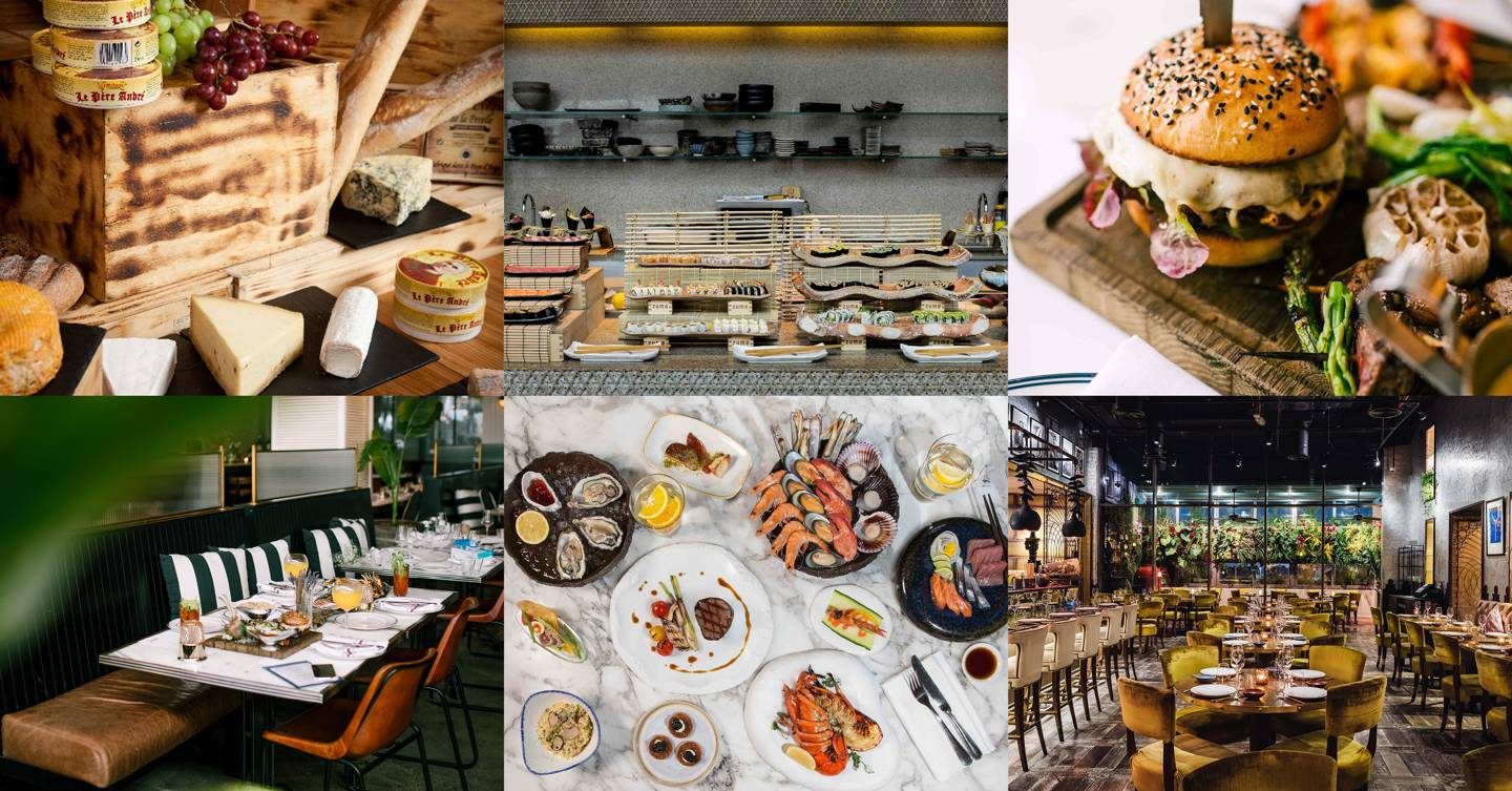 Brunch In Dubai: The 11 Best | Cn Traveller For Contemporary Rolling Buffets (View 5 of 30)