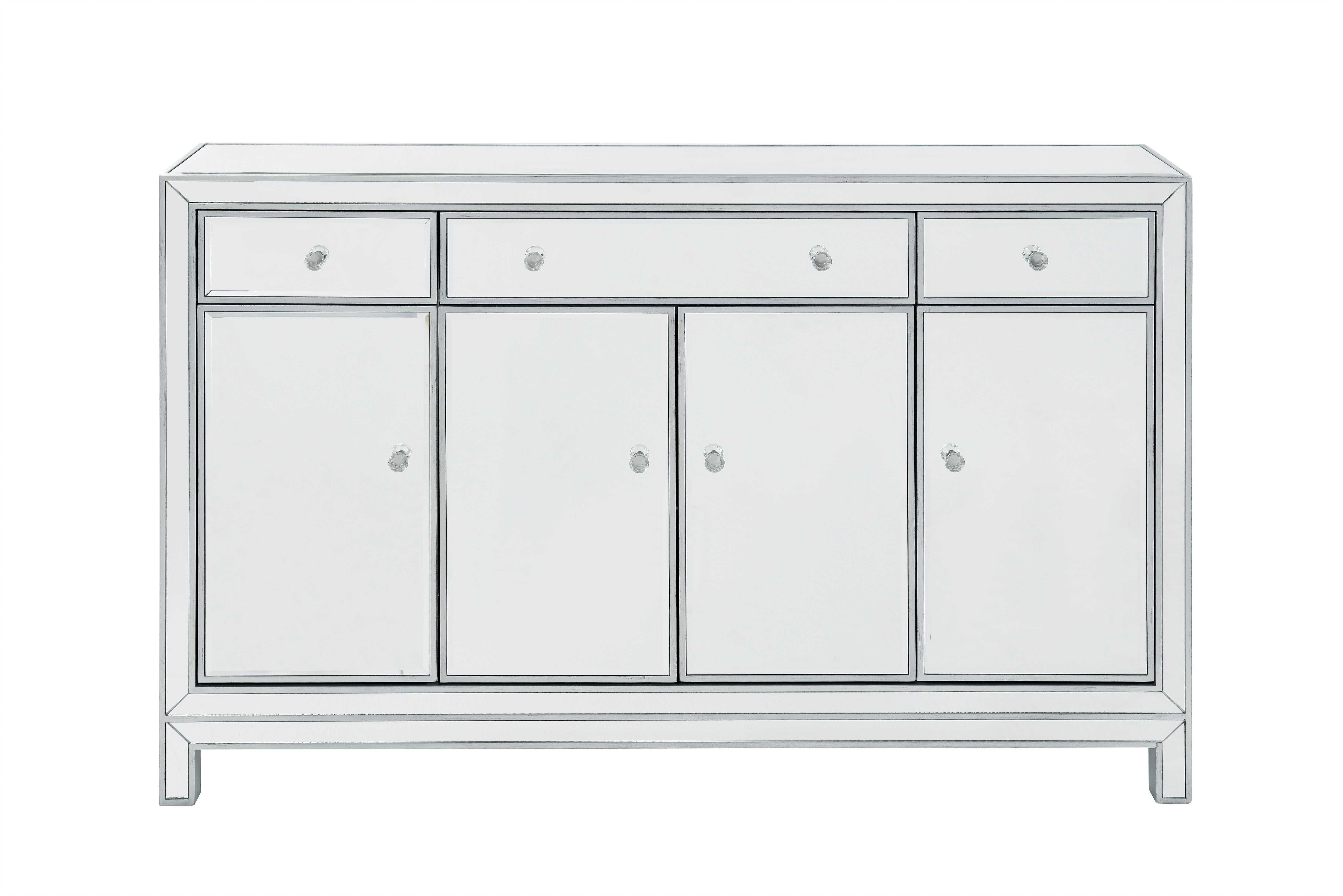 "Buffet Cabinet 3 Drawers 4 Doors 56""w X 13""d X 36""h 