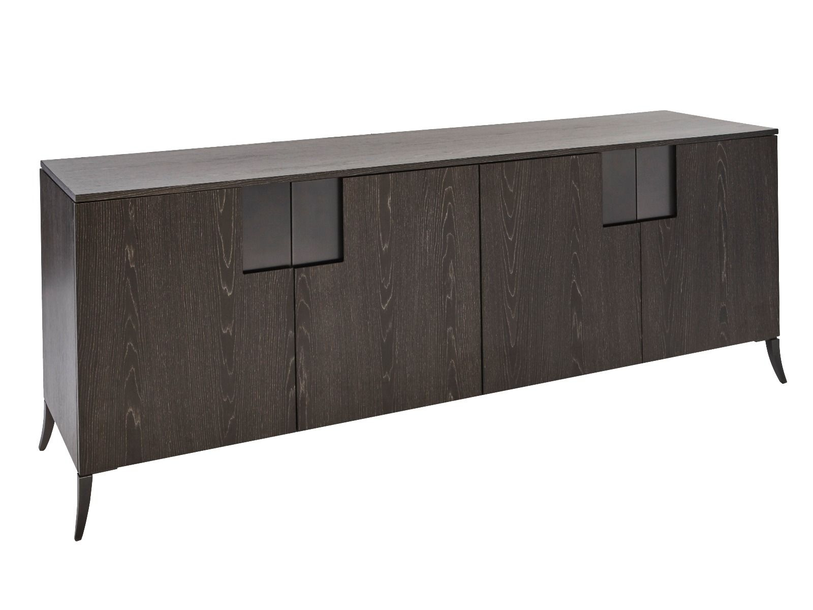 Buffet Sideboard Double Length Regarding 2 Shelf Buffets With Curved Legs (View 7 of 30)