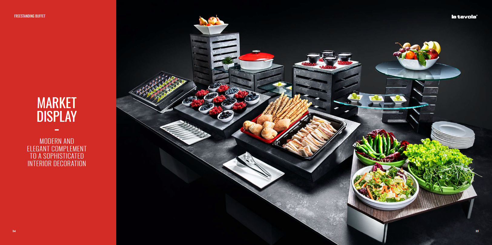 Buffet Tables Breakfast – Bespoke Italy – Robert Dunn Hotel Within Modern Red Buffets (View 22 of 30)
