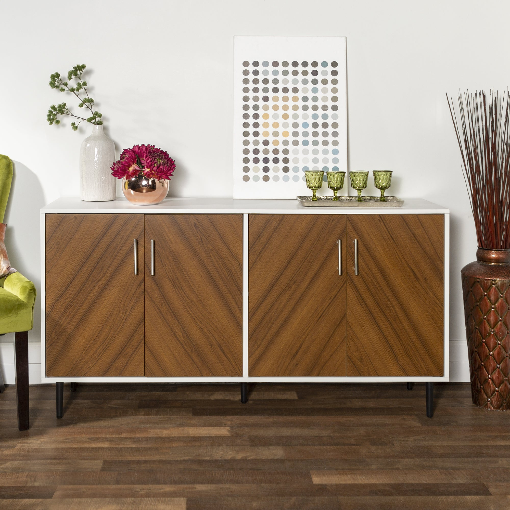 Buy Buffets, Sideboards & China Cabinets Online At Overstock With Regard To Modern Red Buffets (View 18 of 30)