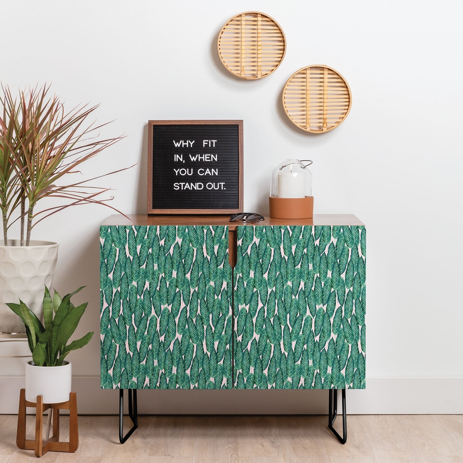 Buy Green, Tropical Buffets, Sideboards & China Cabinets pertaining to Juicy Guava Credenzas (Image 7 of 30)