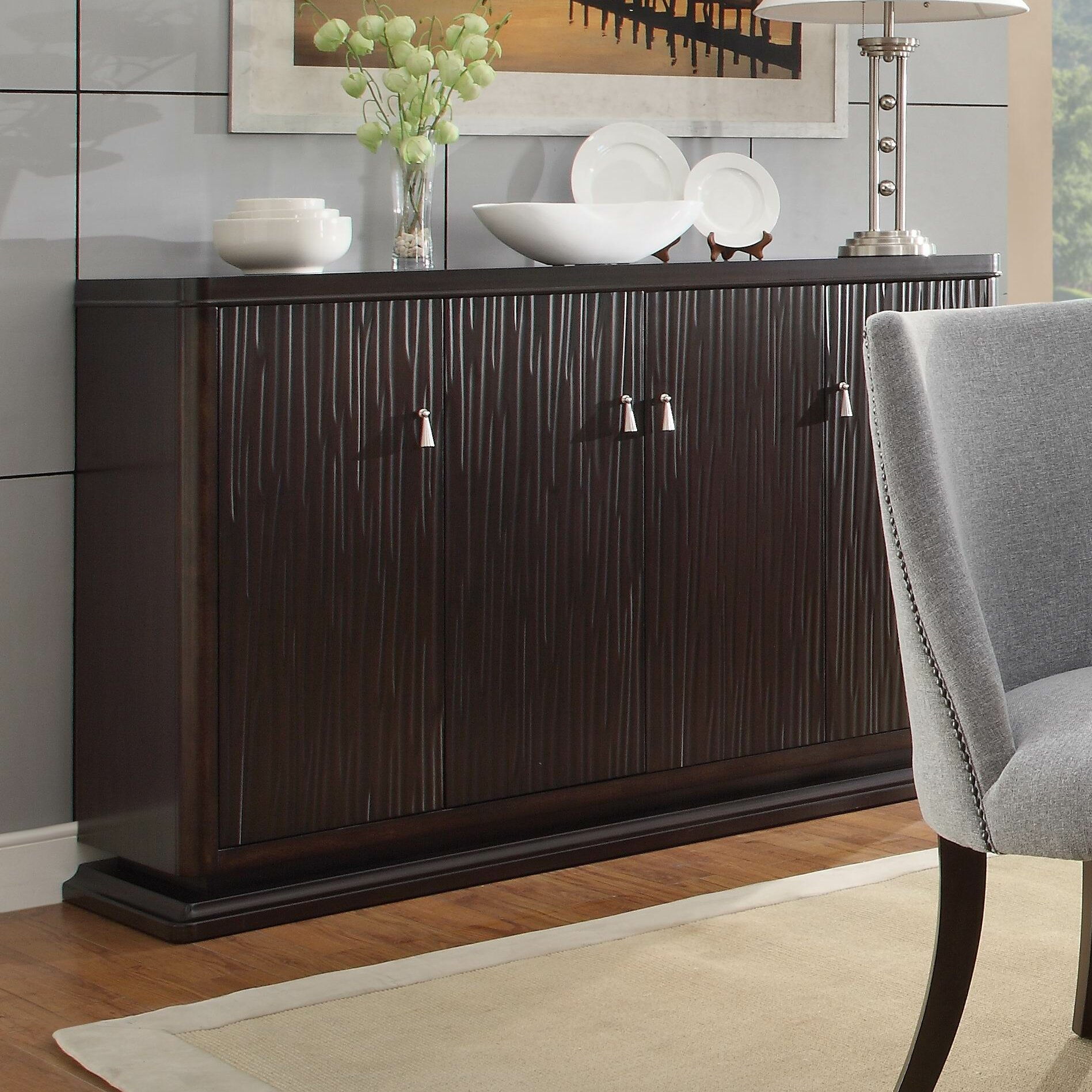 Cadogan Sideboard in Jacklyn 3 Door Sideboards (Image 3 of 30)