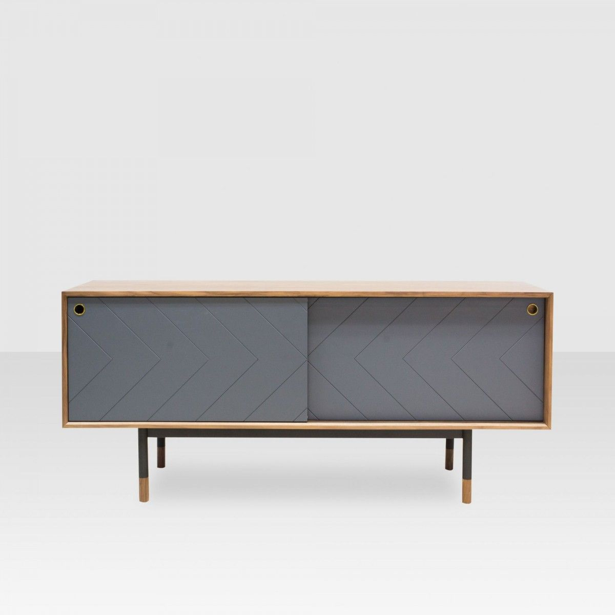 Caine Media Console – Elte Market | Glendonwynne | Console In Caines Credenzas (View 6 of 30)