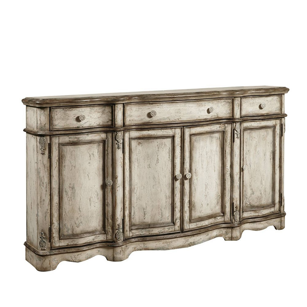 Calle Vintage Distressed Credenza Brown – Pulaski In 2019 Pertaining To Bremner Credenzas (View 4 of 30)