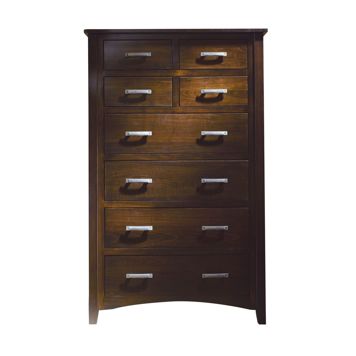 Cambrai Mission Bedroom Set – American Made Custom Furniture With Cambrai Sideboards (View 4 of 30)