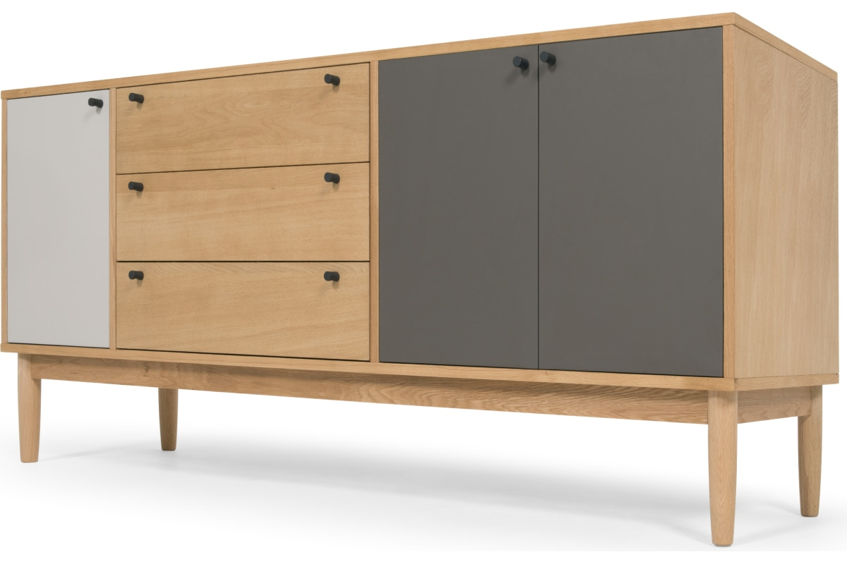 Campton Sideboard, Eiche - Made with Sideboards by Wildon Home (Image 5 of 30)