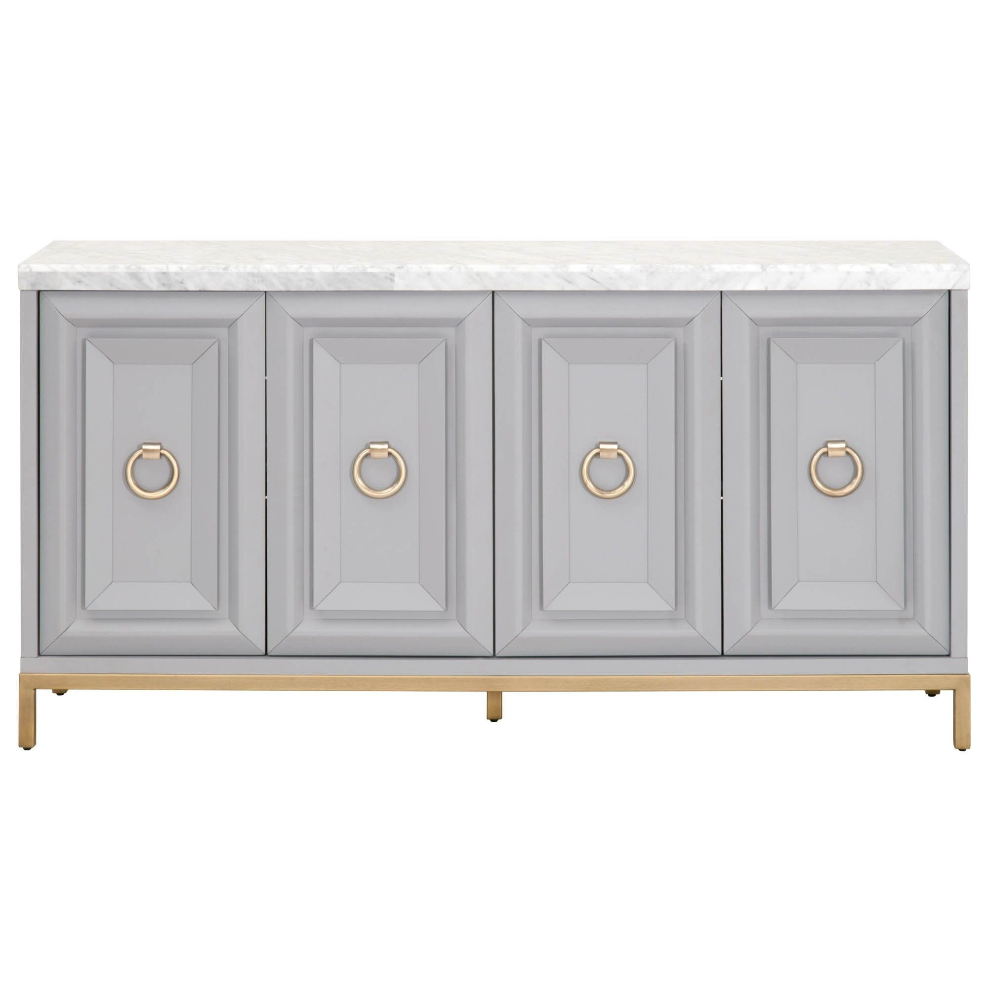 Candelabra Home Azure Carrera Media Sideboard In 2019 Intended For Carrera Contemporary Black Dining Buffets (View 2 of 30)