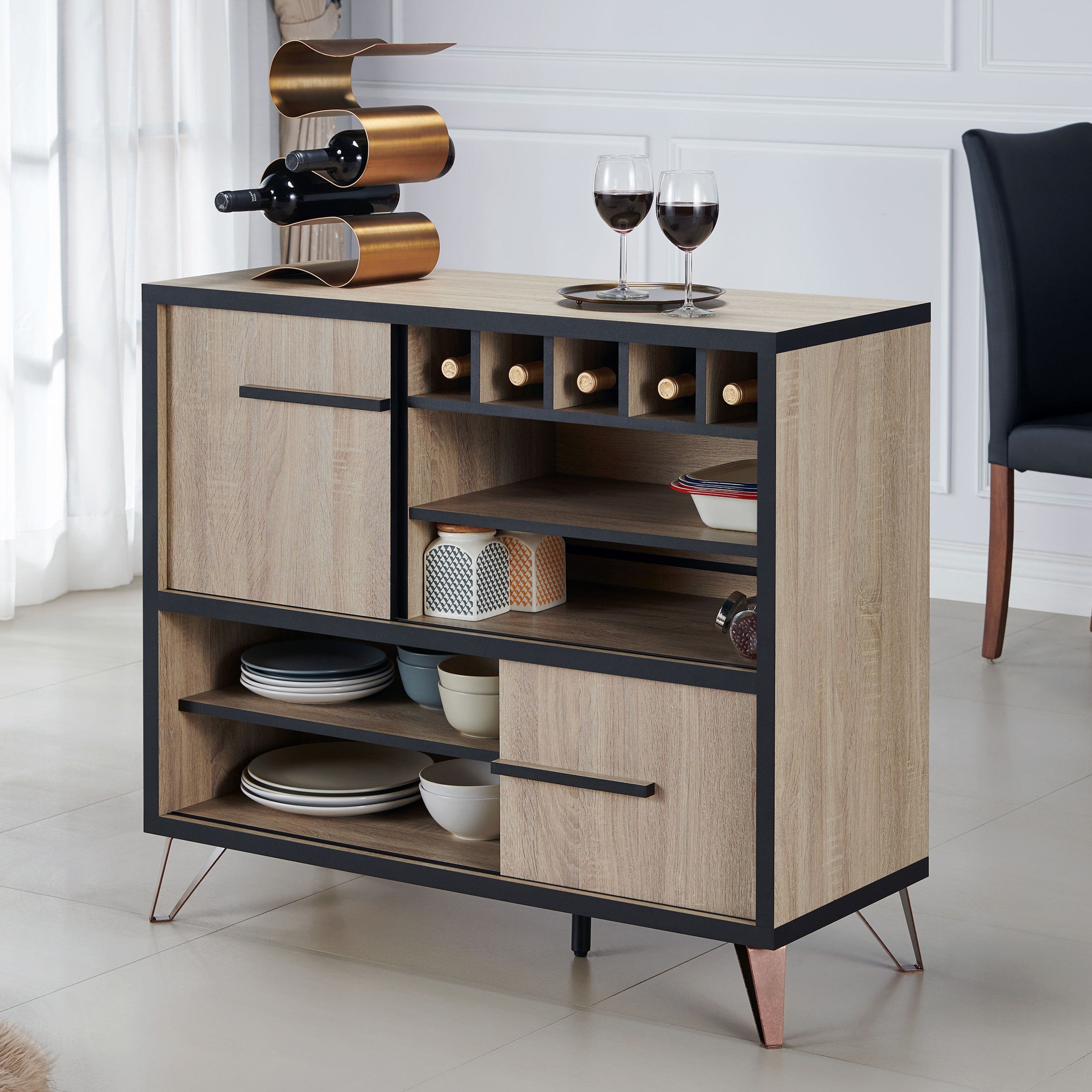 Carbon Loft Feleni Contemporary Buffet Within Contemporary Buffets (View 5 of 30)