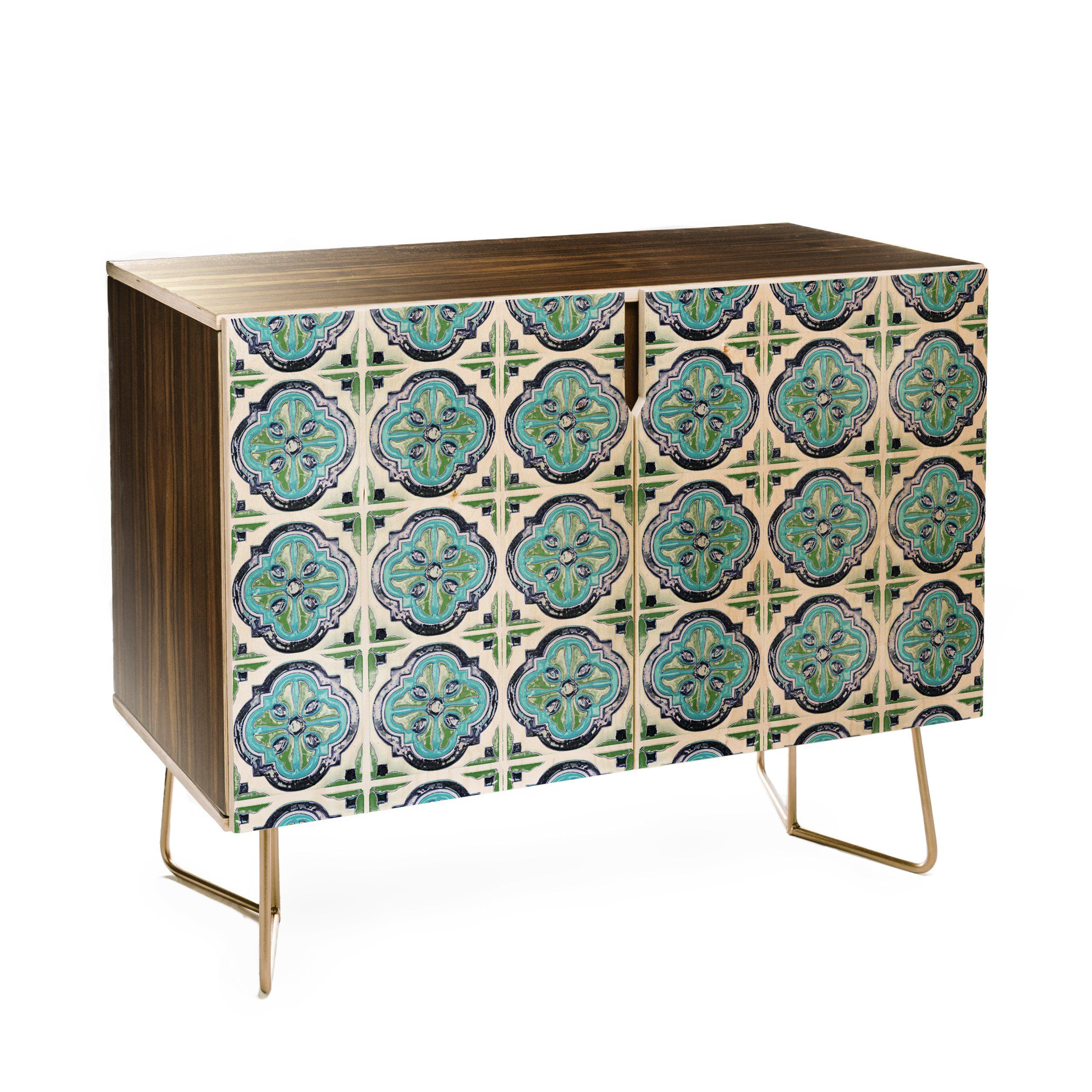 Catherine Mcdonald Antique Bohemia I Credenza | Shopping For Within Turquoise Skies Credenzas (View 9 of 30)