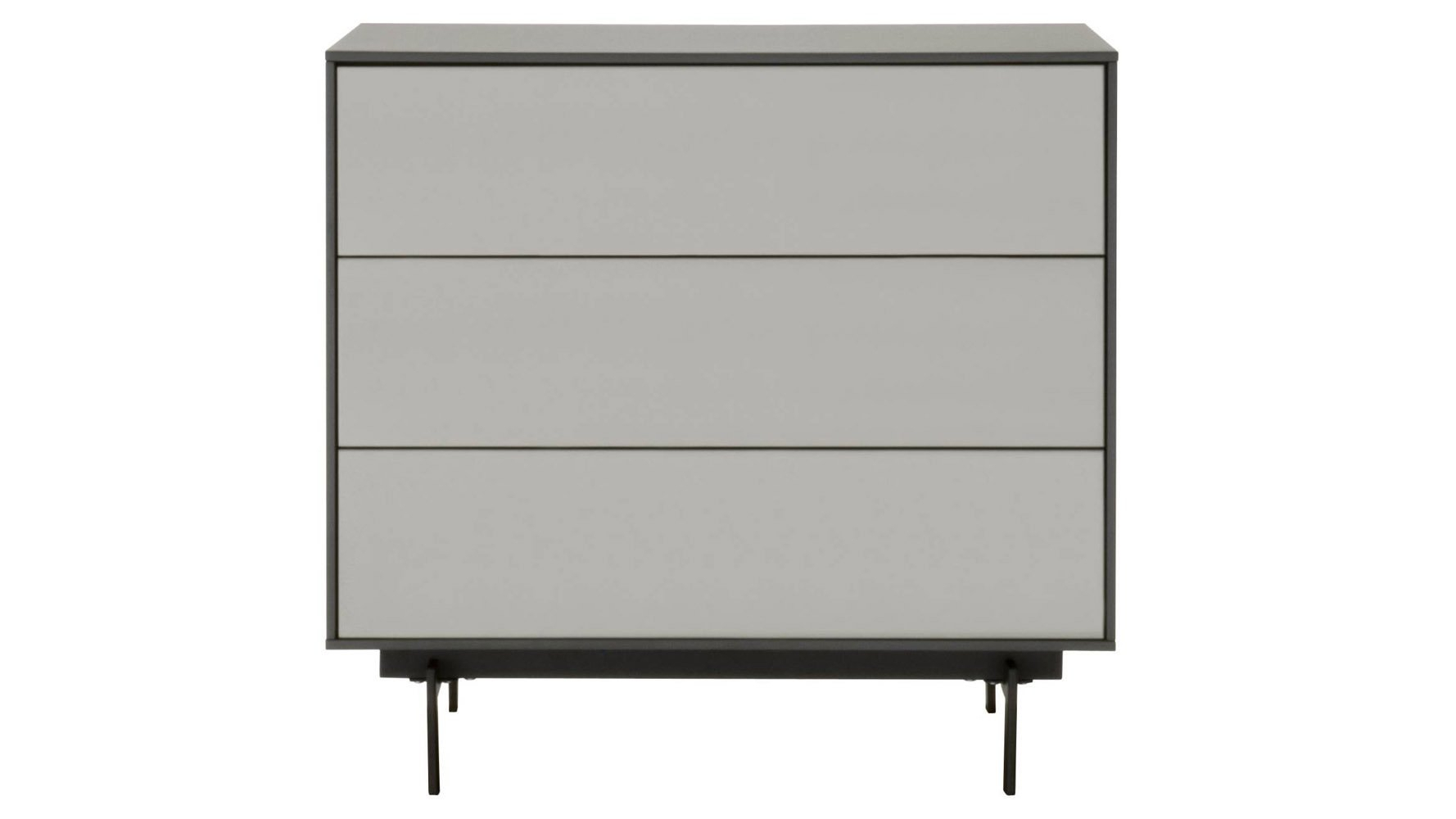 Cenny 3-Drawer Modular Storage Unit - High for 3-Drawer Black Storage Buffets (Image 14 of 30)