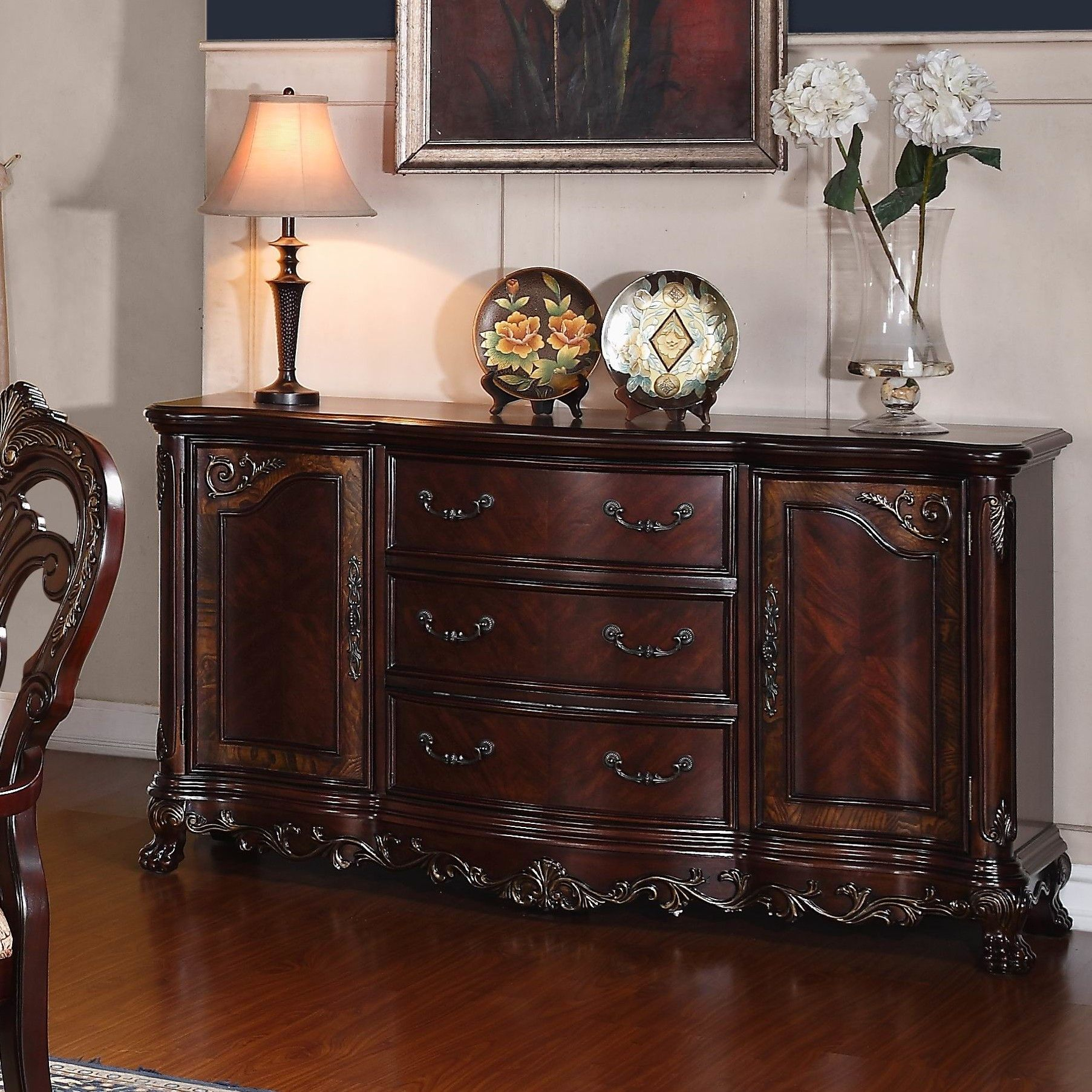 Chalus Sideboard In 2019 | Sideboard Buffet | Traditional Regarding Chalus Sideboards (View 6 of 30)