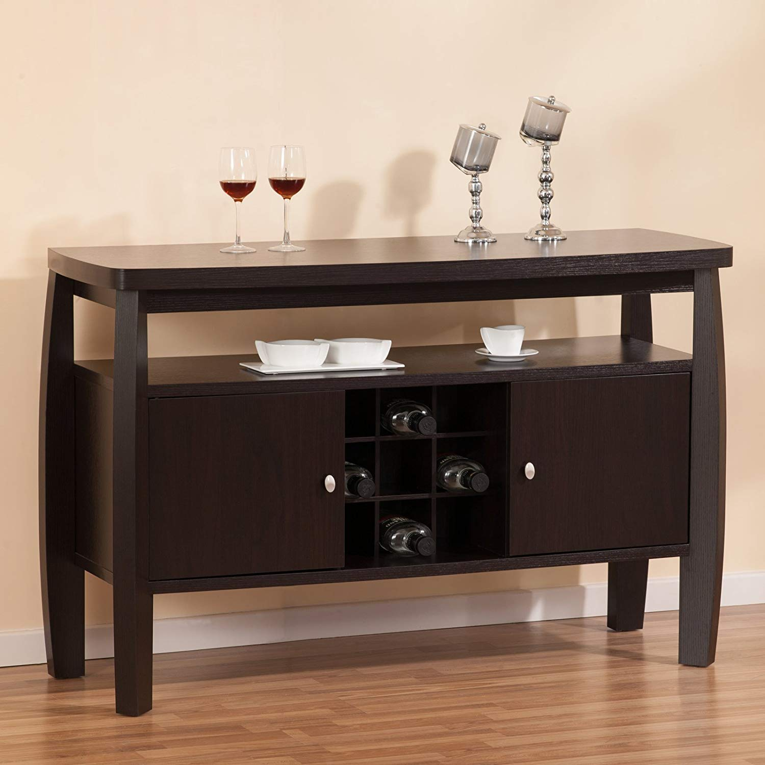 Cheap China Buffet Cabinets 208, Find China Buffet Cabinets intended for Simple Living Layla Black Buffets (Image 7 of 30)