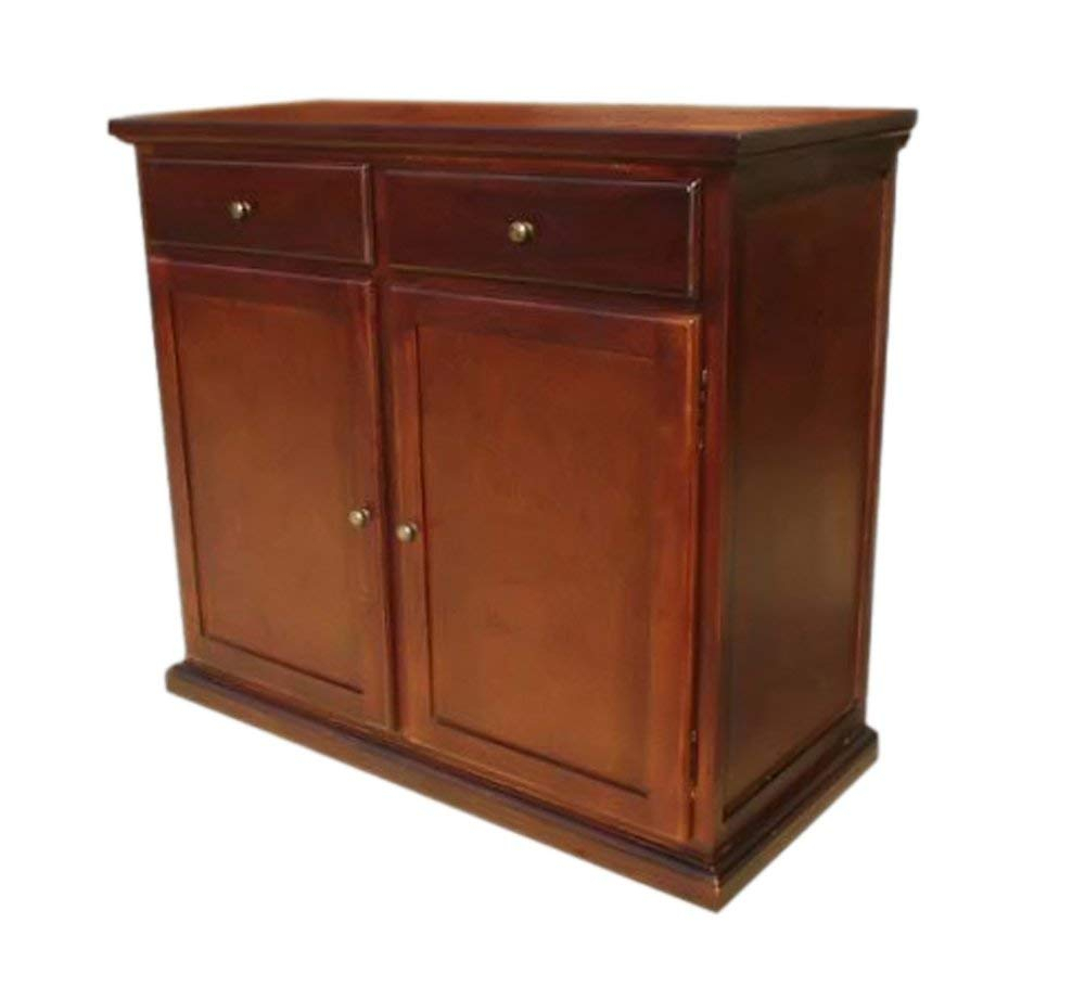 Cheap Living Room Buffet Cabinet, Find Living Room Buffet With Simple Living Montego Black Wooden Buffets (View 8 of 30)