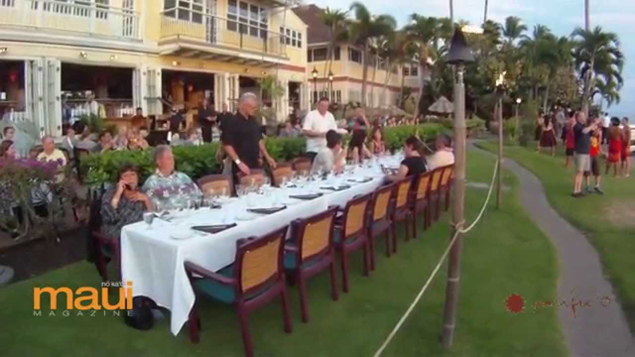 Chef Anton Haines / Pacific'o / Napili Flo Farm – Aipono Wine Dinner Series In Simple Living Maui Buffets (View 8 of 30)