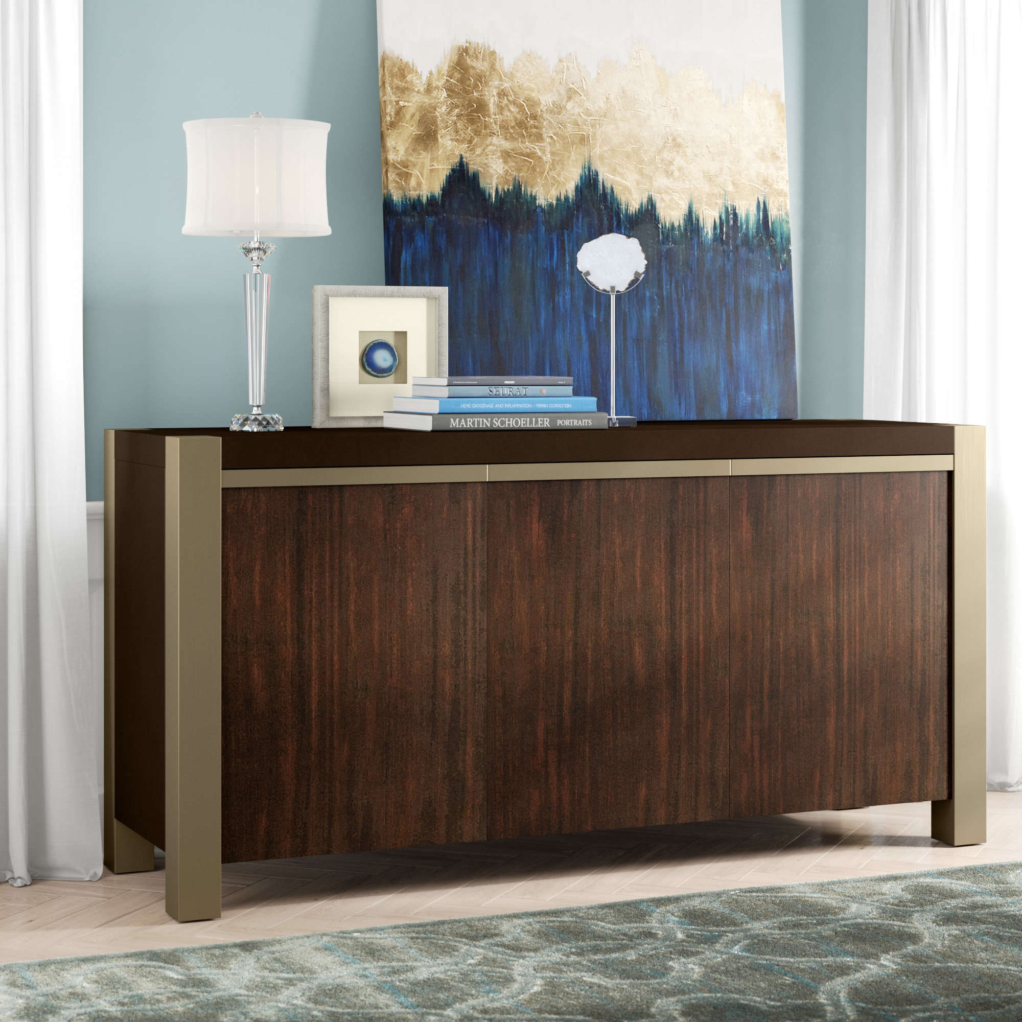 Cher Credenza Intended For Cher Sideboards (View 4 of 30)
