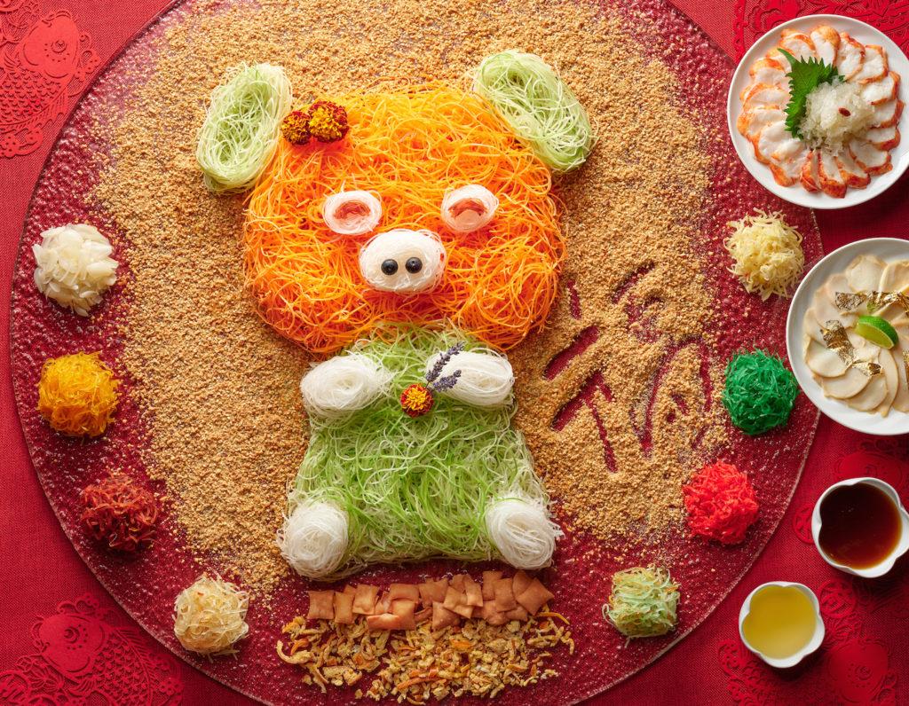 Cny Reunion Dinners, Yu Sheng, Pineapple Tarts & Buffets Inside Multi Shelf Corner Buffets (View 17 of 30)