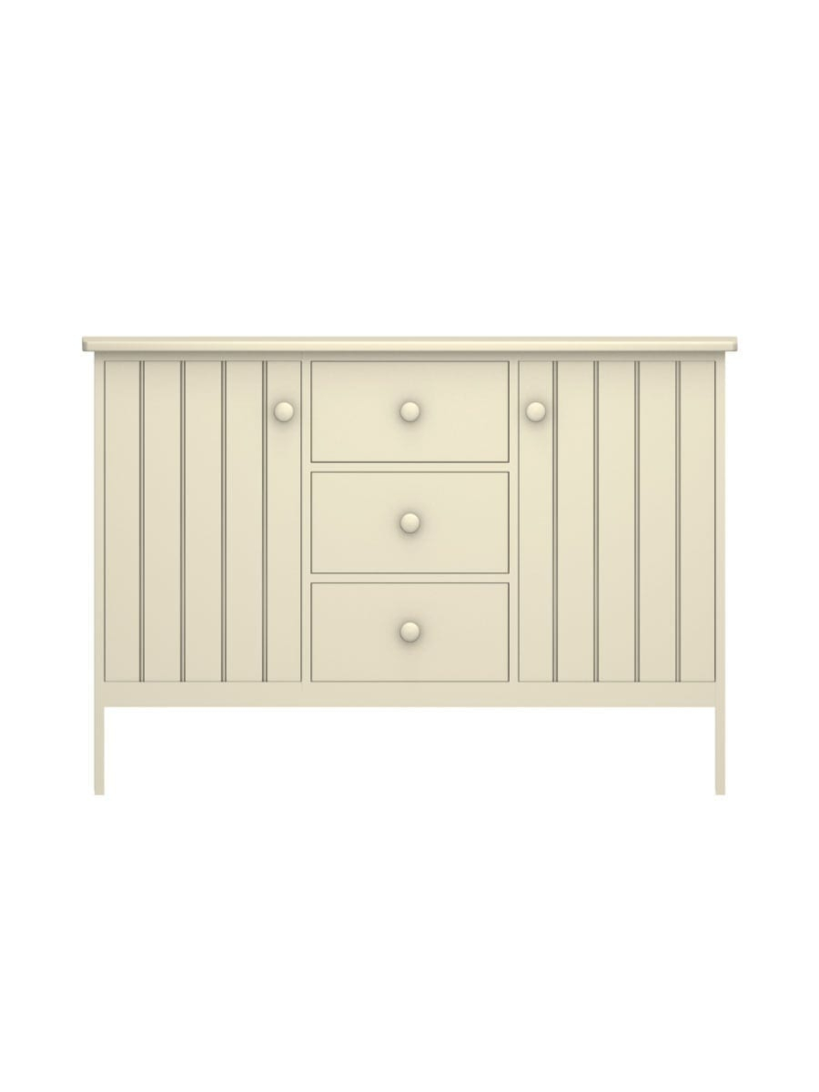Colony Buffet With 3 Drawers | Cottage Home® for 3-Drawer Storage Buffets (Image 8 of 30)