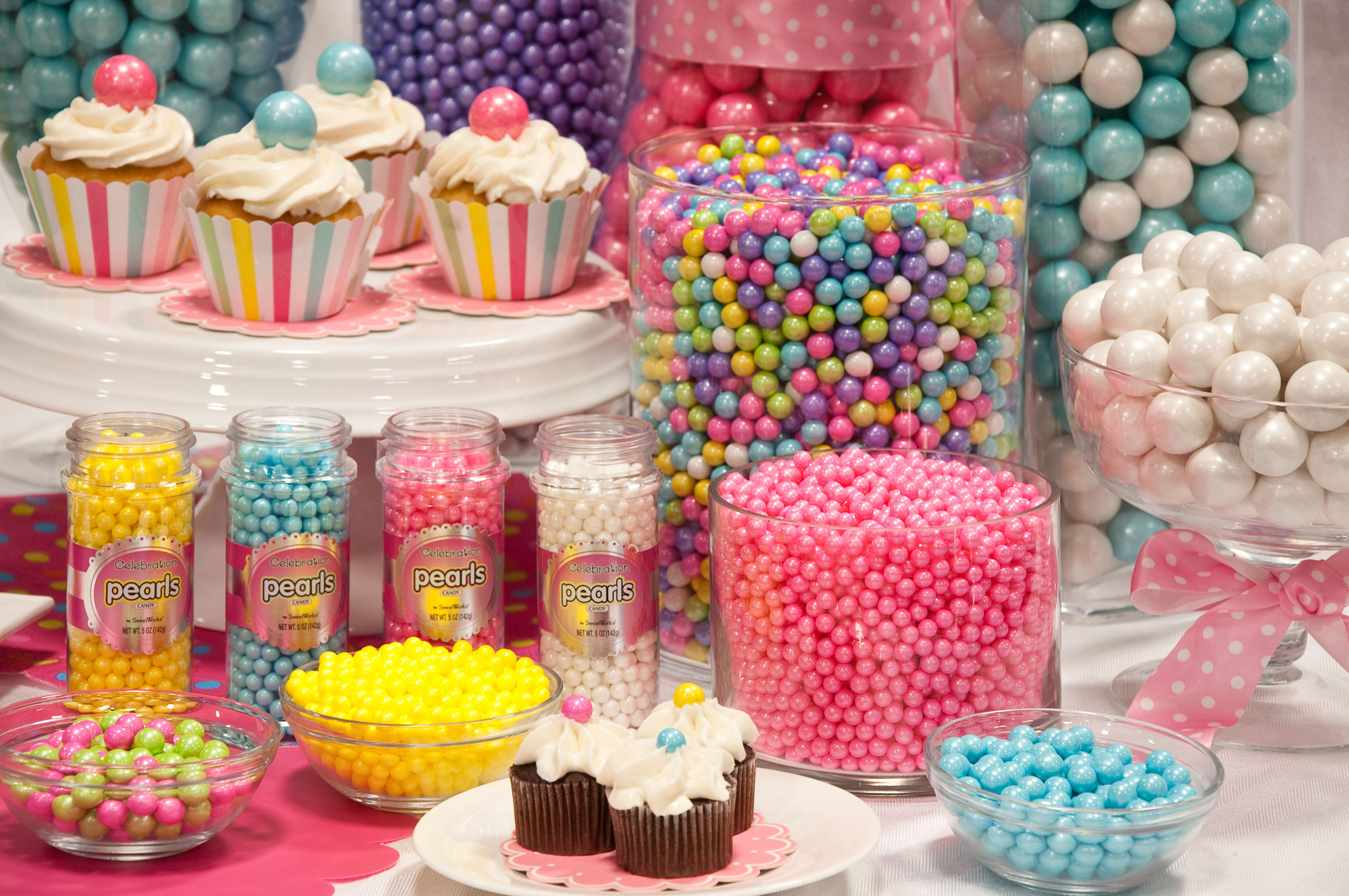 Colorful Candy Buffet With Celebrationsweetworks (View 9 of 30)
