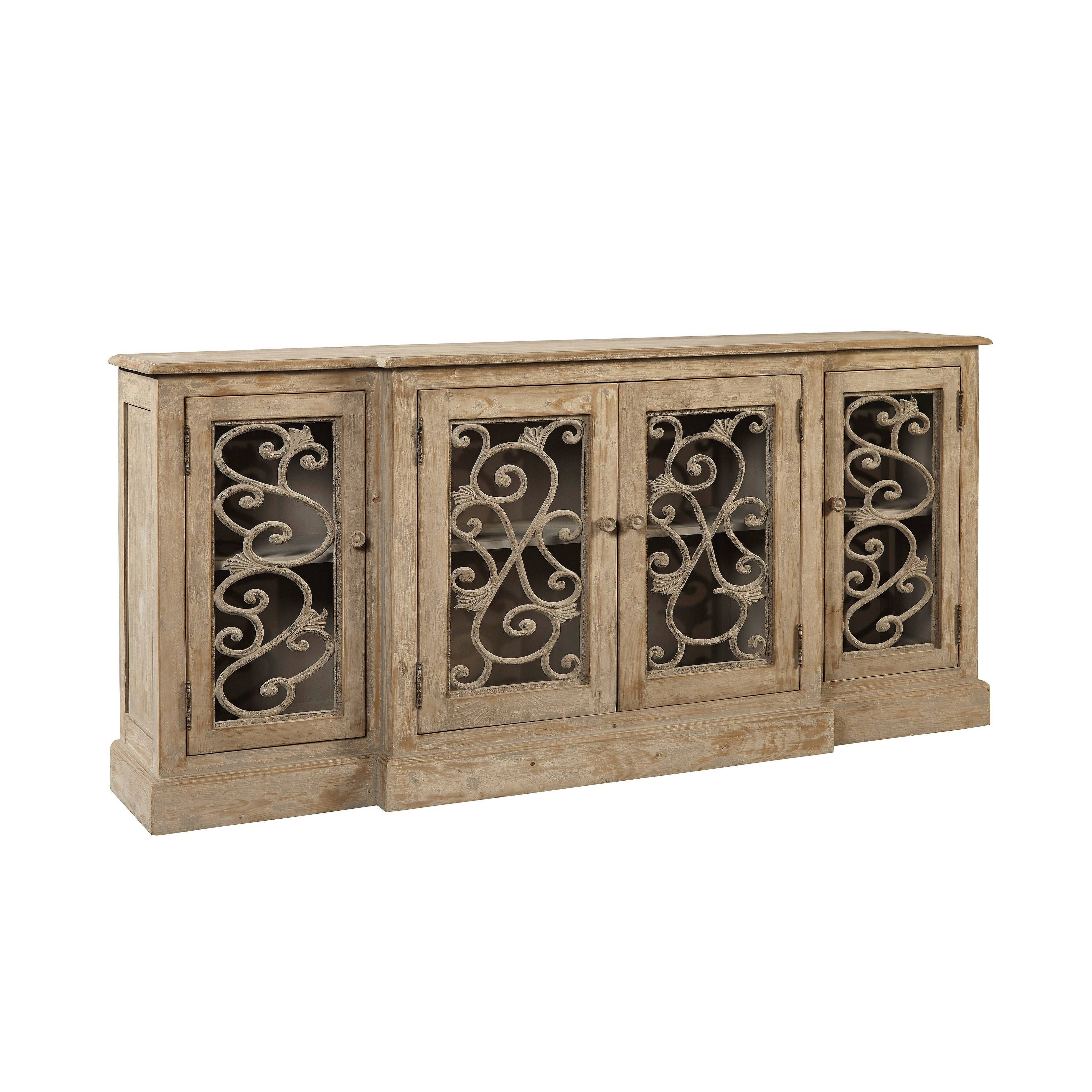 Common Home Sherinne Sideboard, Beige | Products | Sideboard for Kronburgh Sideboards (Image 7 of 30)