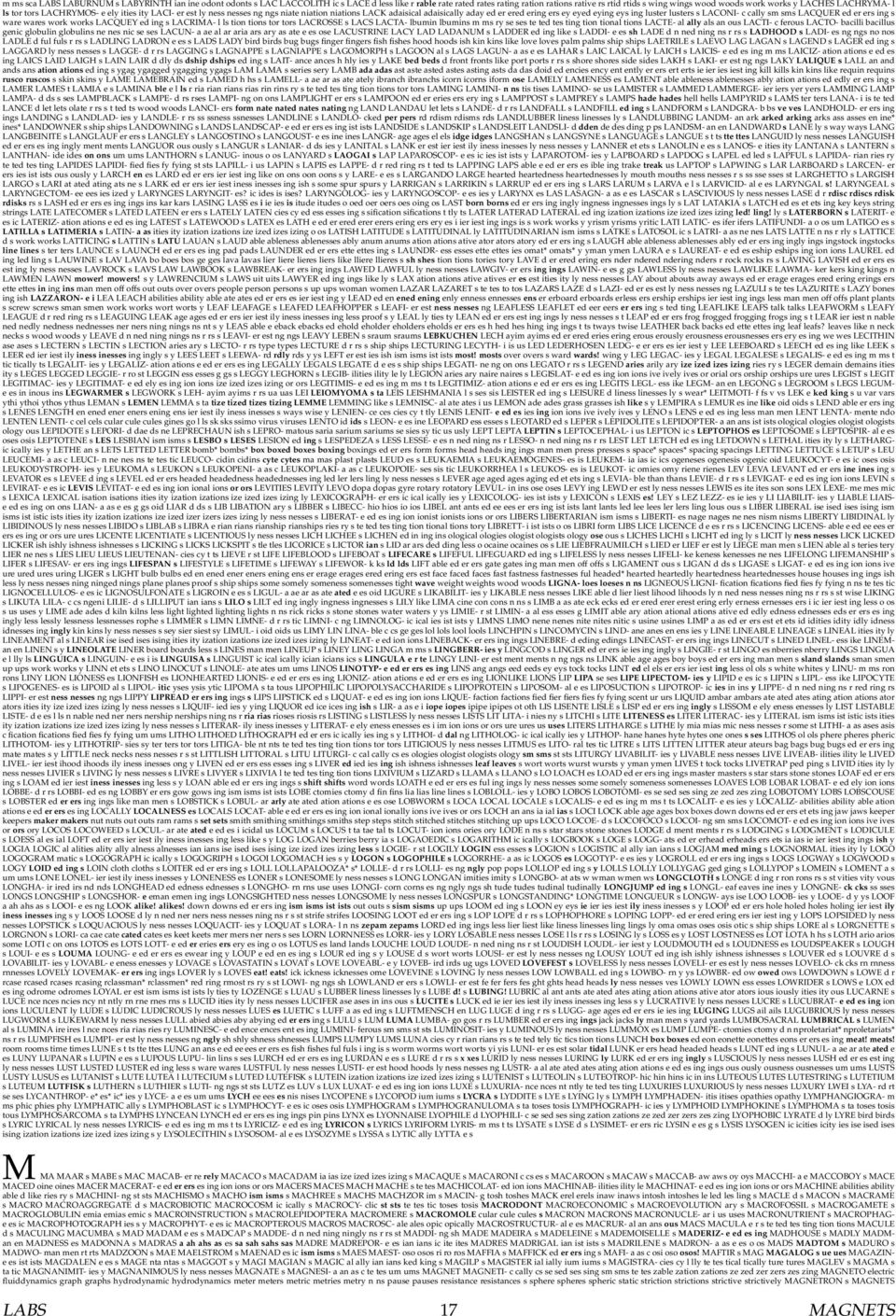 Confuzzle: A Wordlist. Compiledrob Speer - Pdf intended for Juicy Guava Credenzas (Image 9 of 30)