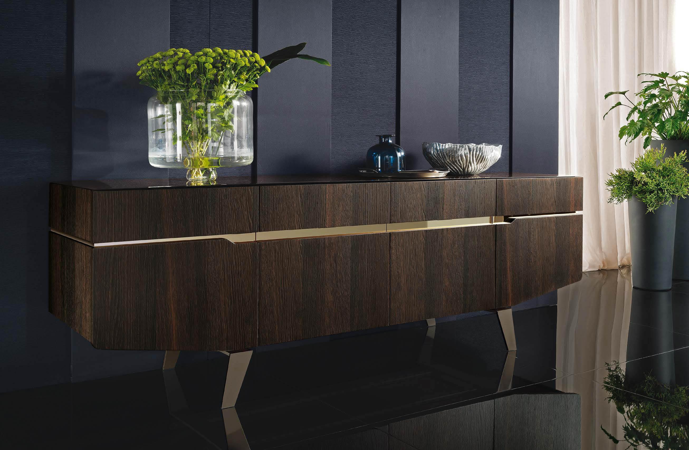 Contemporary Buffets & Mirrors – Milano Italian Furniture With Contemporary Buffets (View 8 of 30)