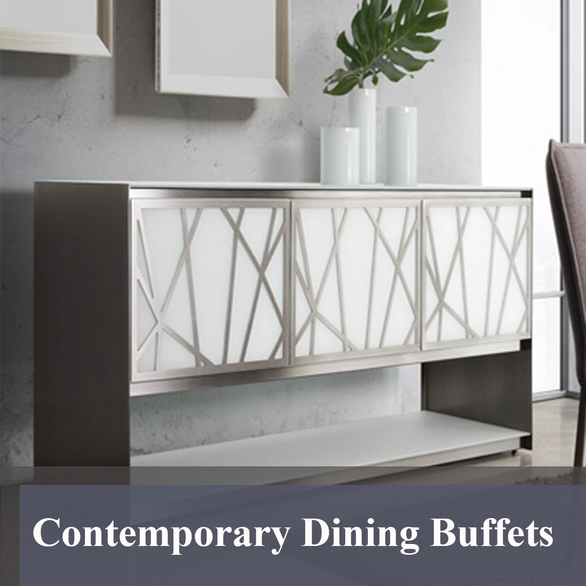 Contemporary Dining Buffets – American Made Custom Furniture Pertaining To Contemporary Buffets (View 9 of 30)