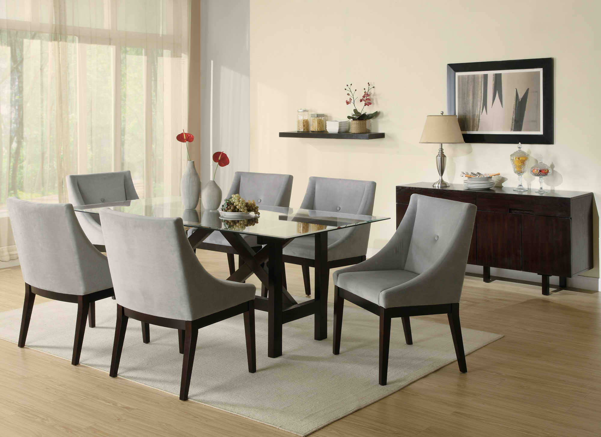 Contemporary Dining Furniture Buffet — Contemporary With Contemporary Black Dining Buffets (View 20 of 30)
