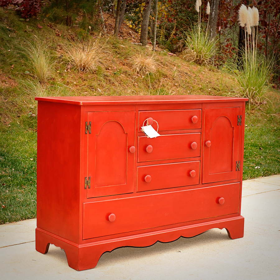 Country Sideboard In Emperor's Silk With Medium Waxannie Intended For Whitten Sideboards (View 22 of 30)