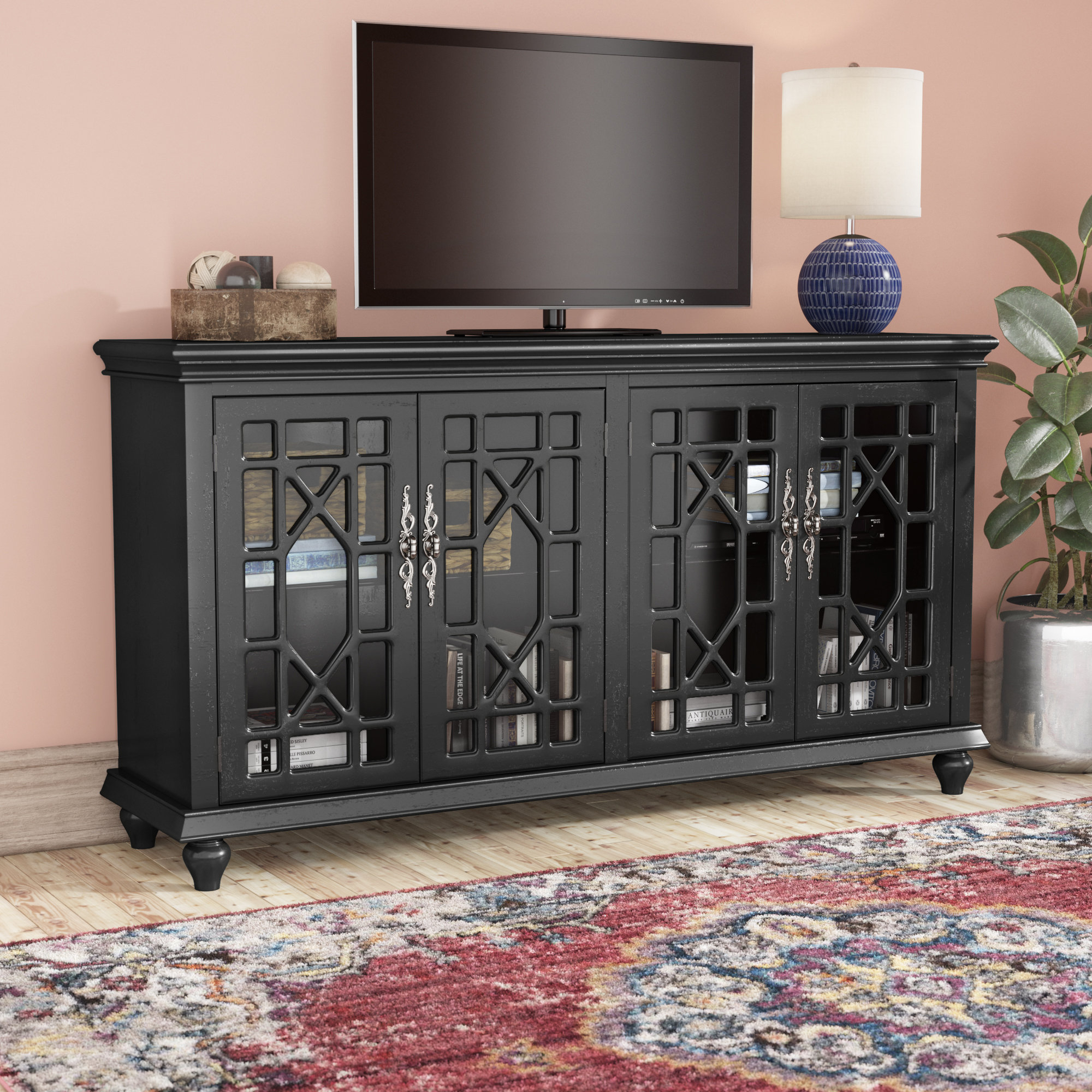 "Credenza Tv Stand You'll Love In 2019 | Wayfair with regard to Colefax Vintage Tv Stands For Tvs Up To 78"" (Image 13 of 30)"