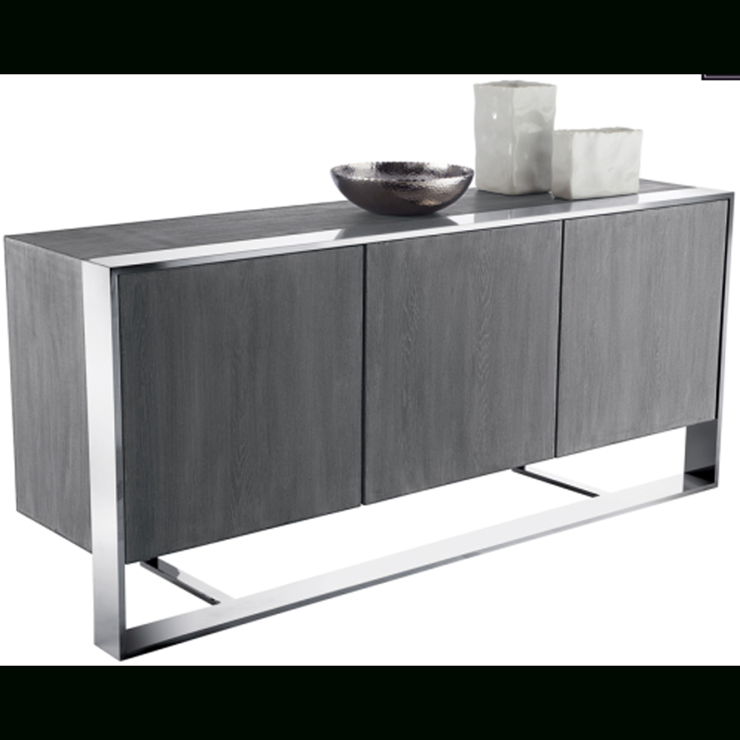 Dalton Sideboard, Grey Oak   Sunpan Modern | Bert In Grey Wooden Accent Buffets (Photo 1 of 30)